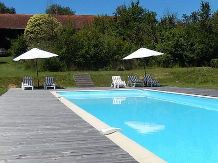 Domaine La Barbe, het grote zwembad (5x20m)