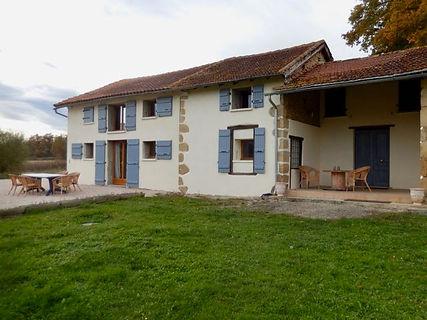 Domaine La Barbe, het gastenhuis