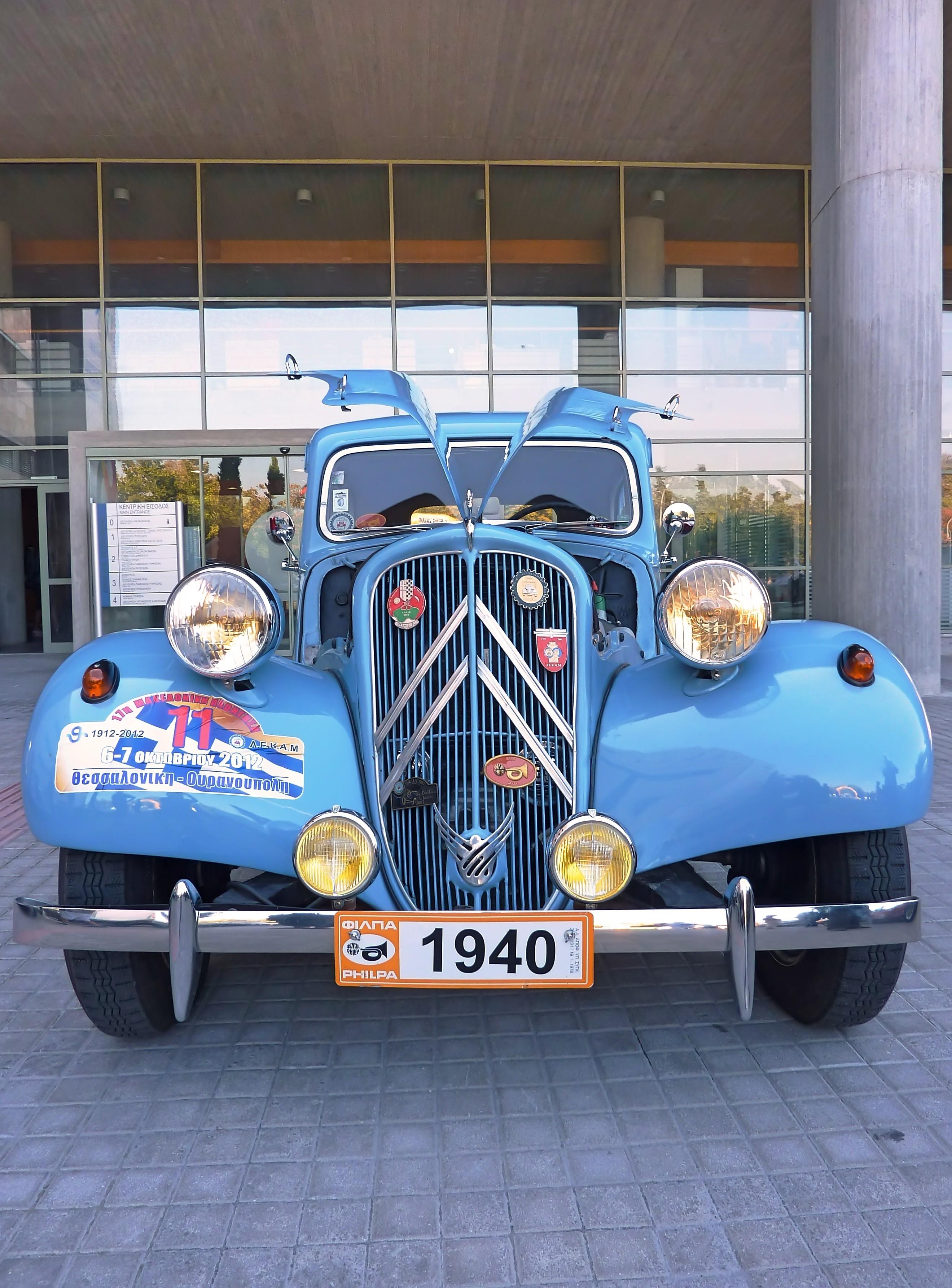 1954 Citroen Traction Avant 11BL  (12)
