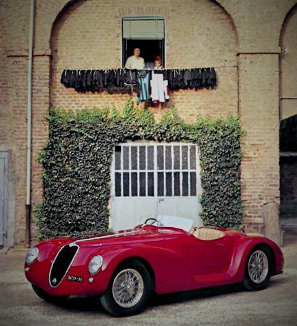 1940 Alfa Romeo 6C 2500 SS Torpedino Brescia (1)