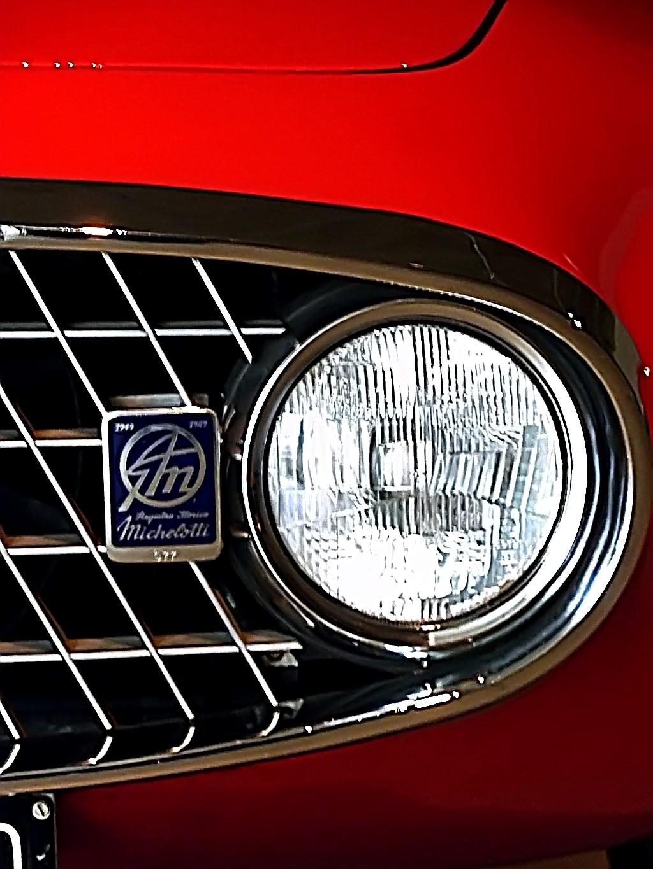 1952 Fiat 8V Vignale Demon Rouge Coupe  (7)