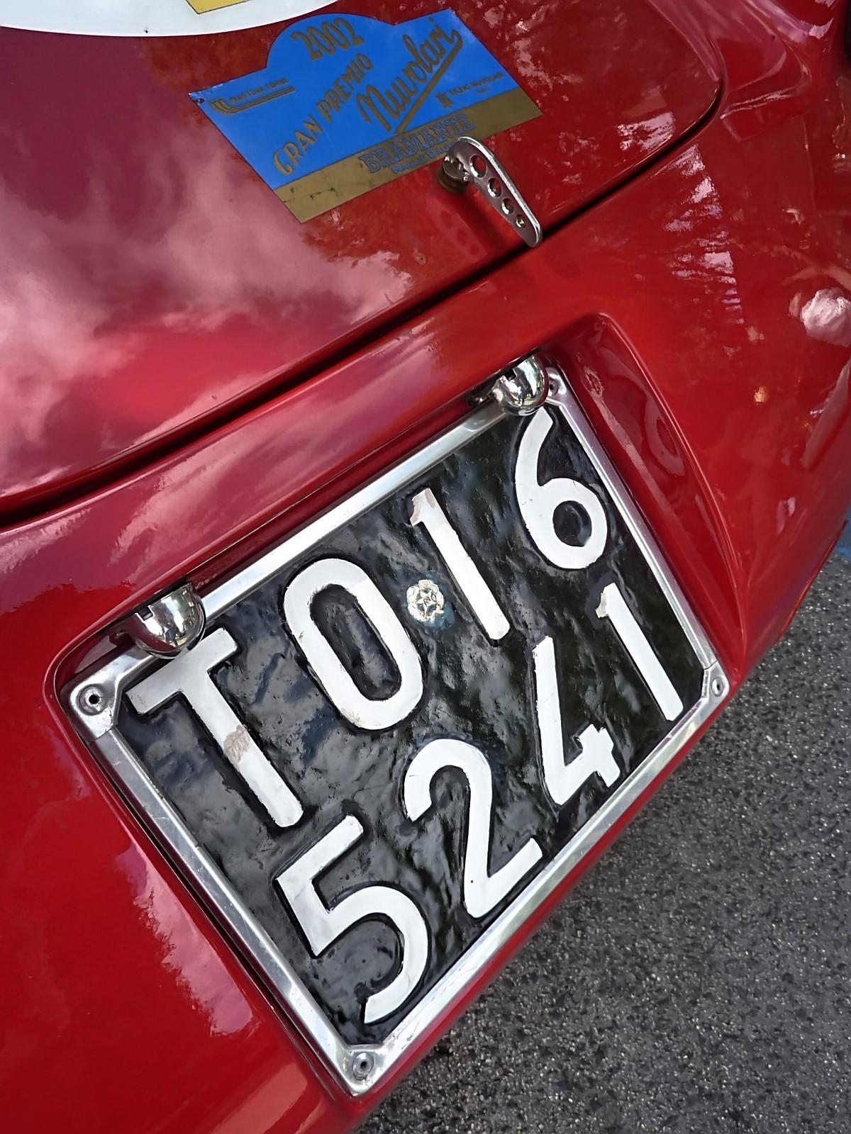 1954 Fiat 1100 Sport Barchetta Patriarca Pininfarina (13)