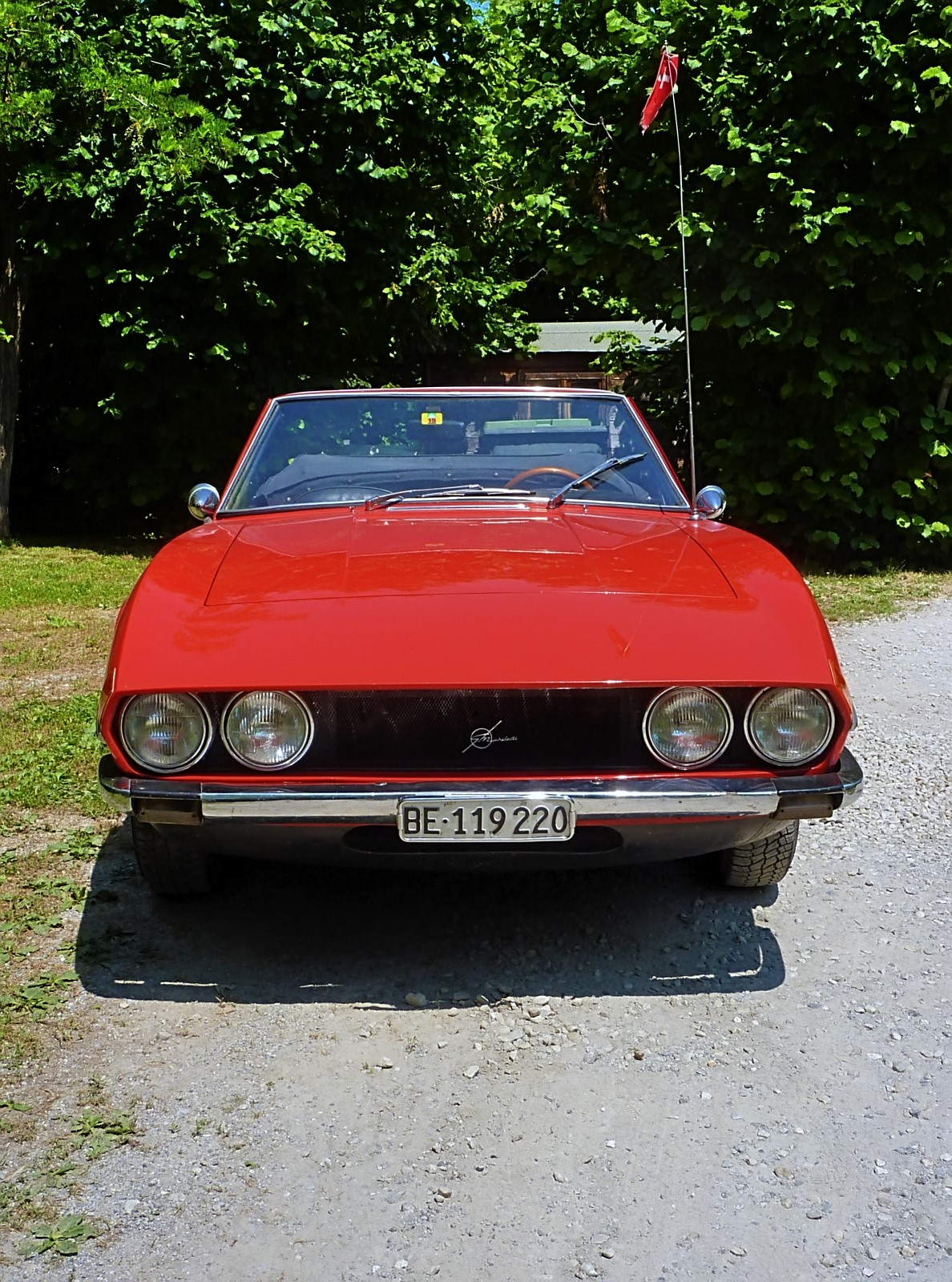 1968 Michelotti TR5 Ginevra Prototype (33)