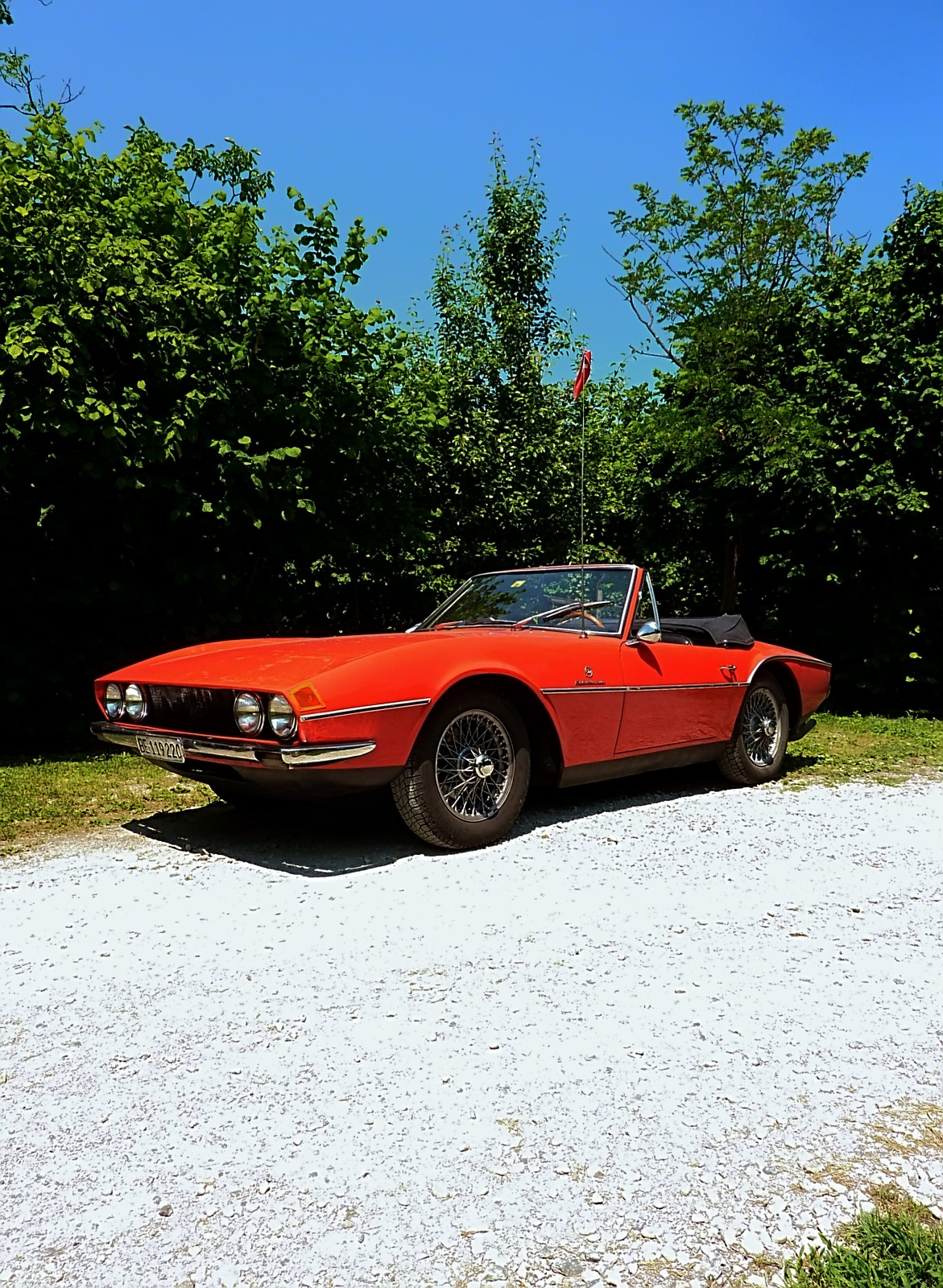 1968 Michelotti TR5 Ginevra Prototype (28)