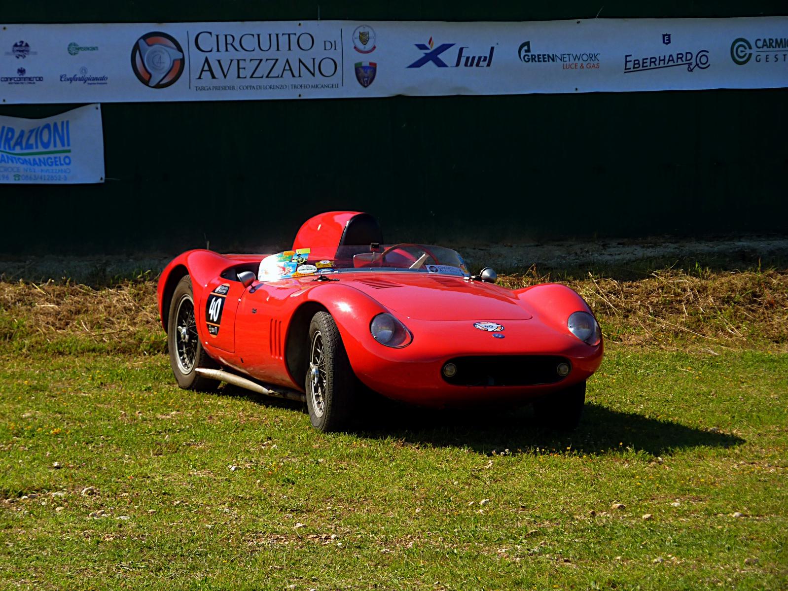 1958 OSCA Maserati 372 F2