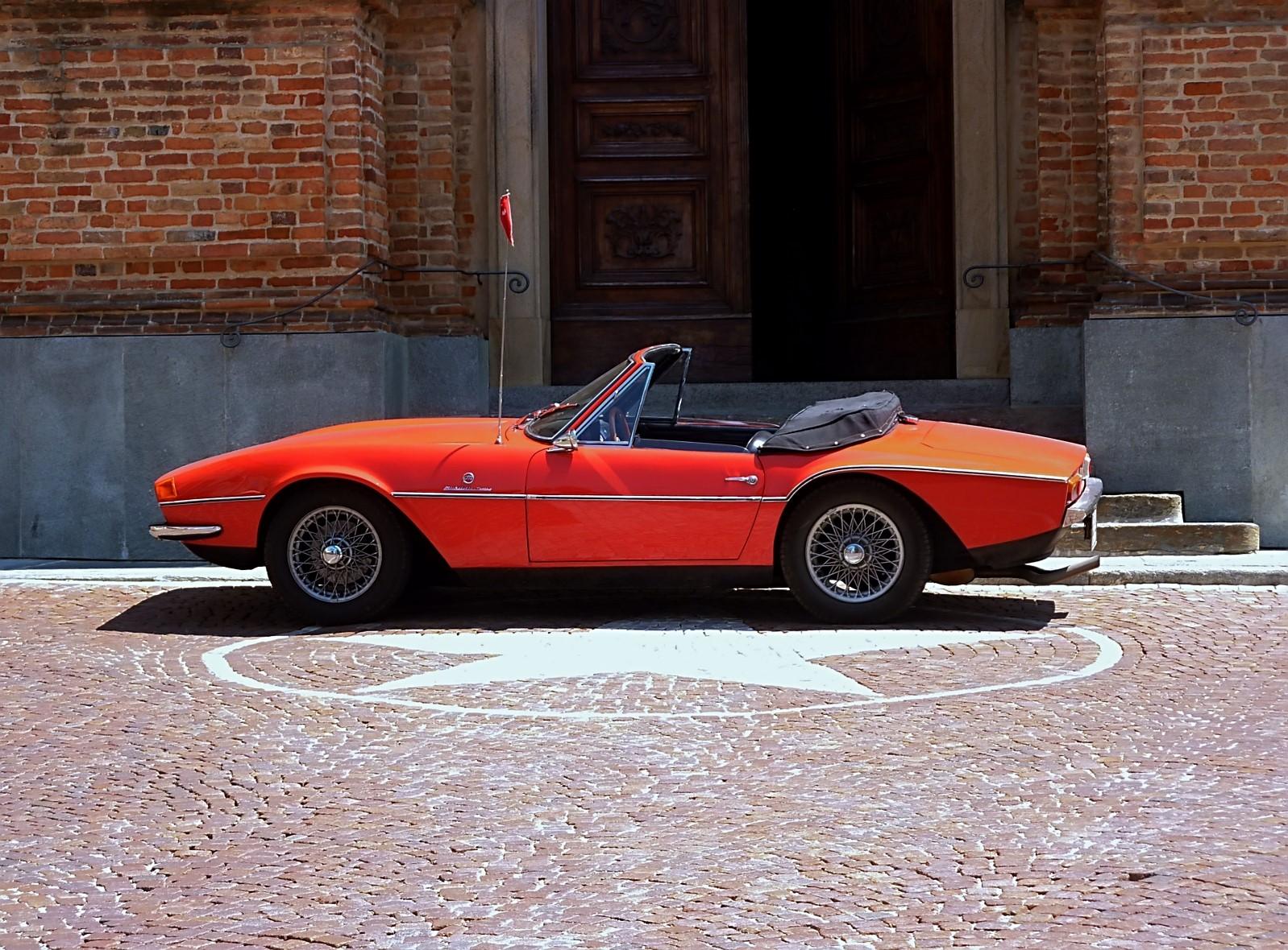 1968 Michelotti TR5 Ginevra Prototype (50)