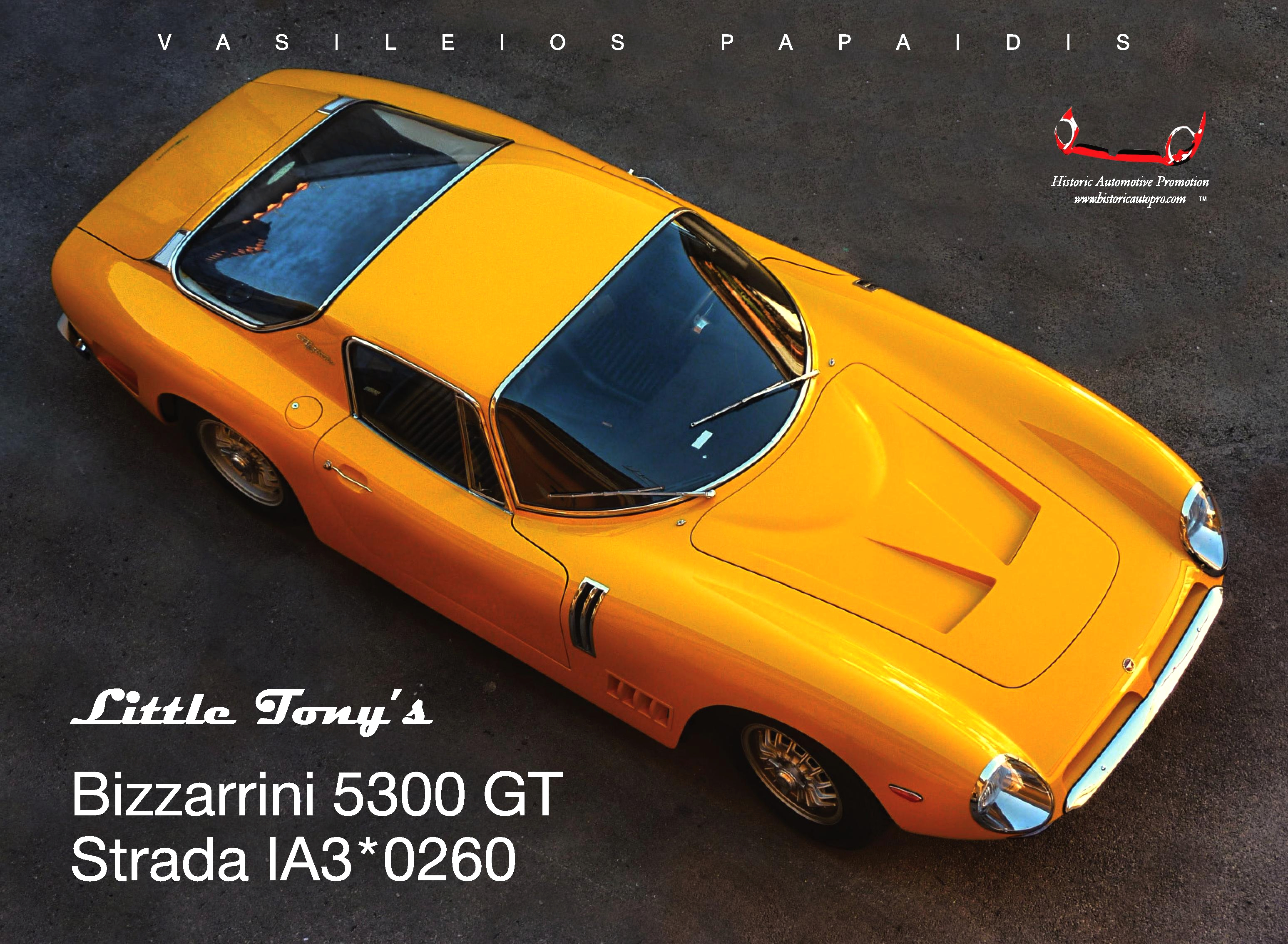 Little Tony's Bizzarrini 5300 GT Str