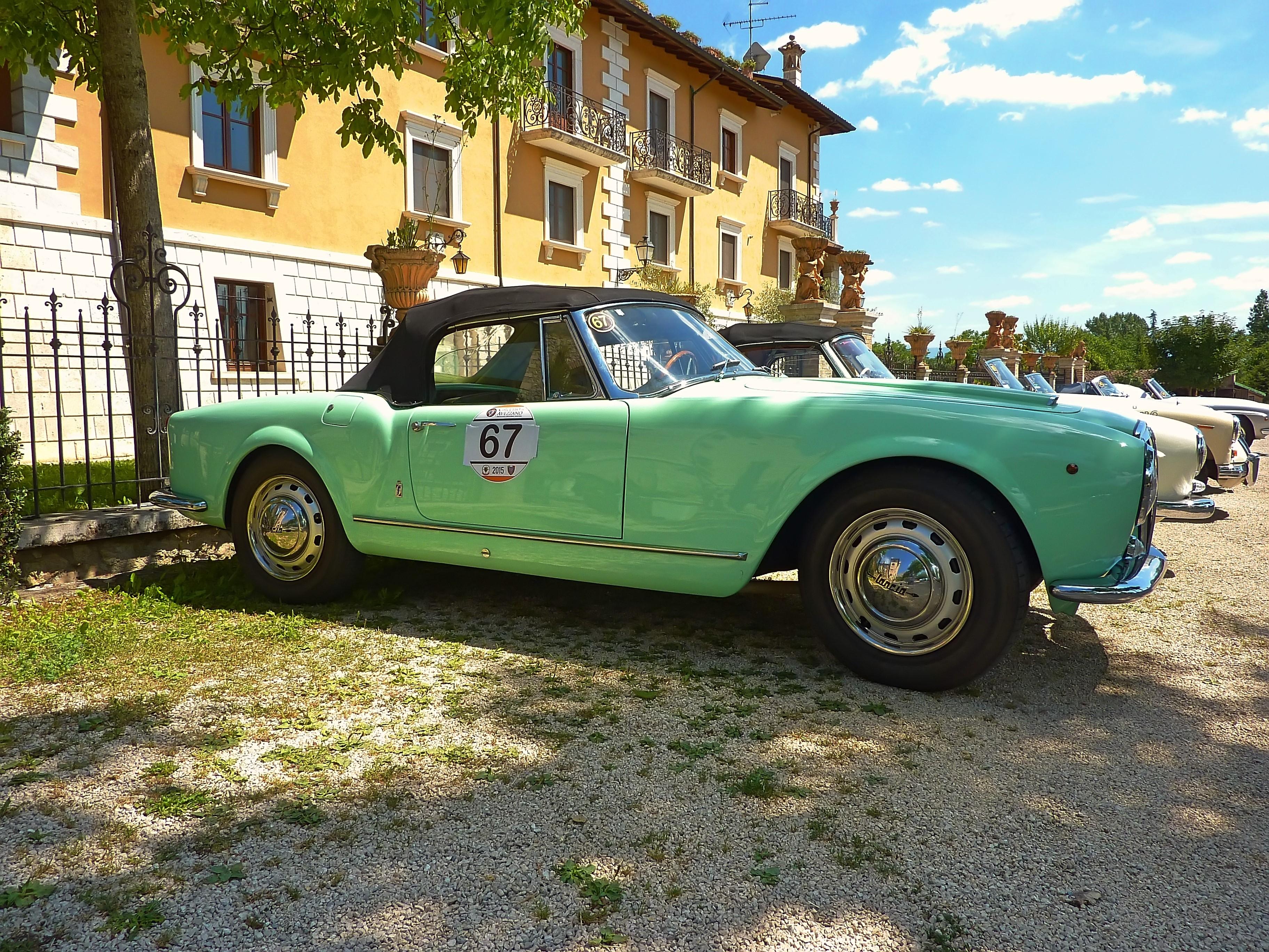 1956 Lancia Aurelia B24 Cabriolet  (21)