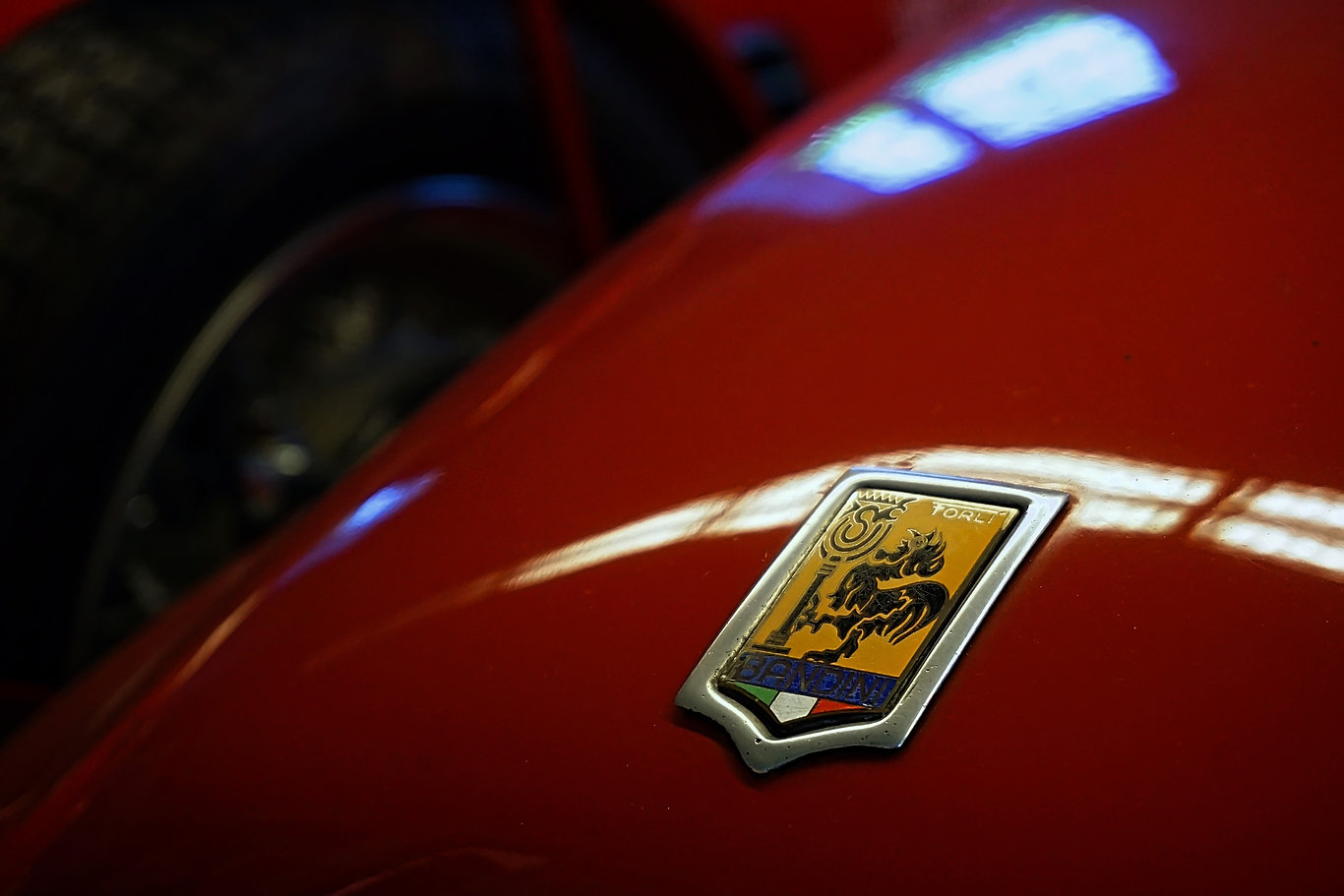The Bandini badge design came from the s