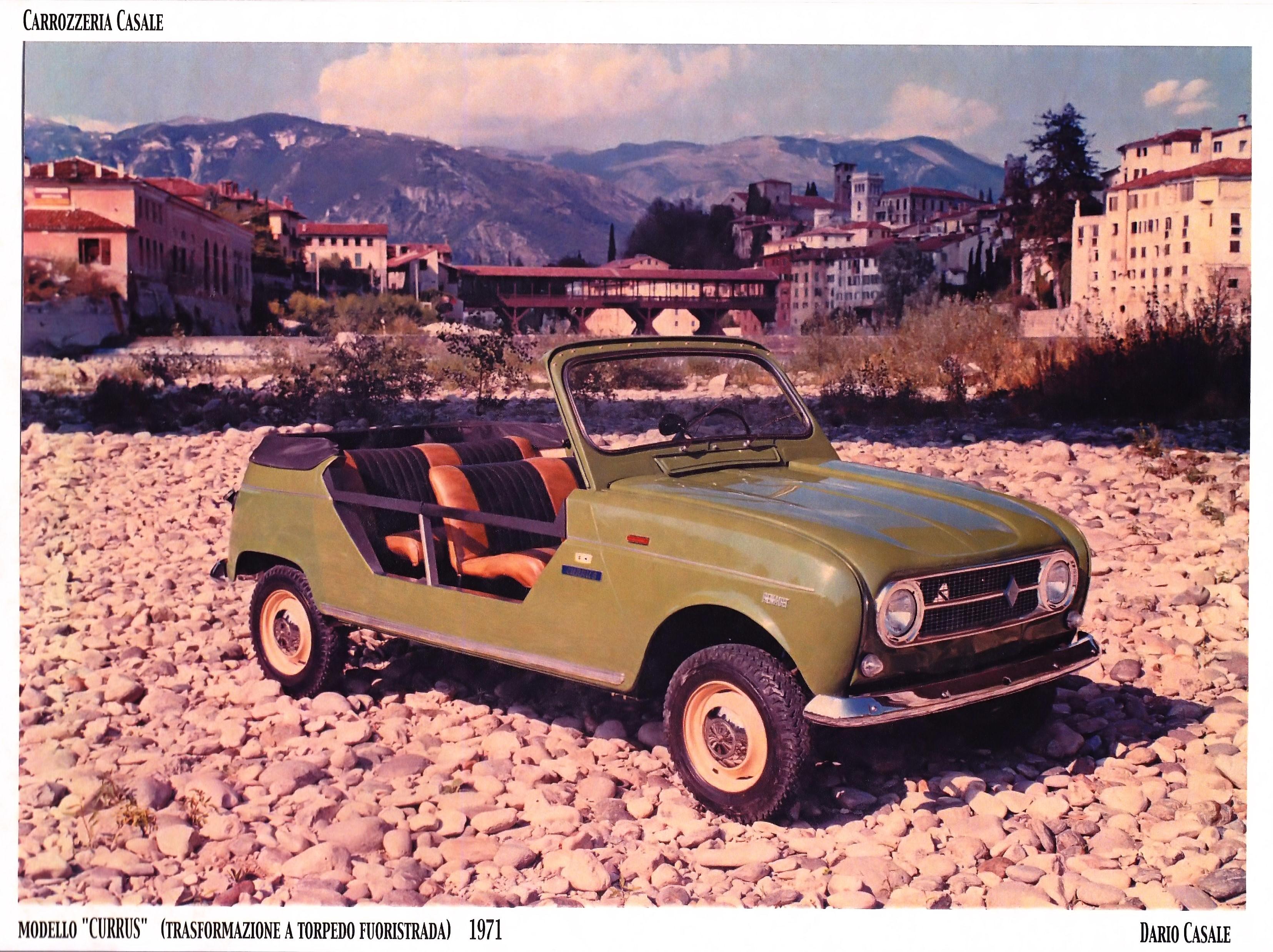 1969 Renault 4 Aperto