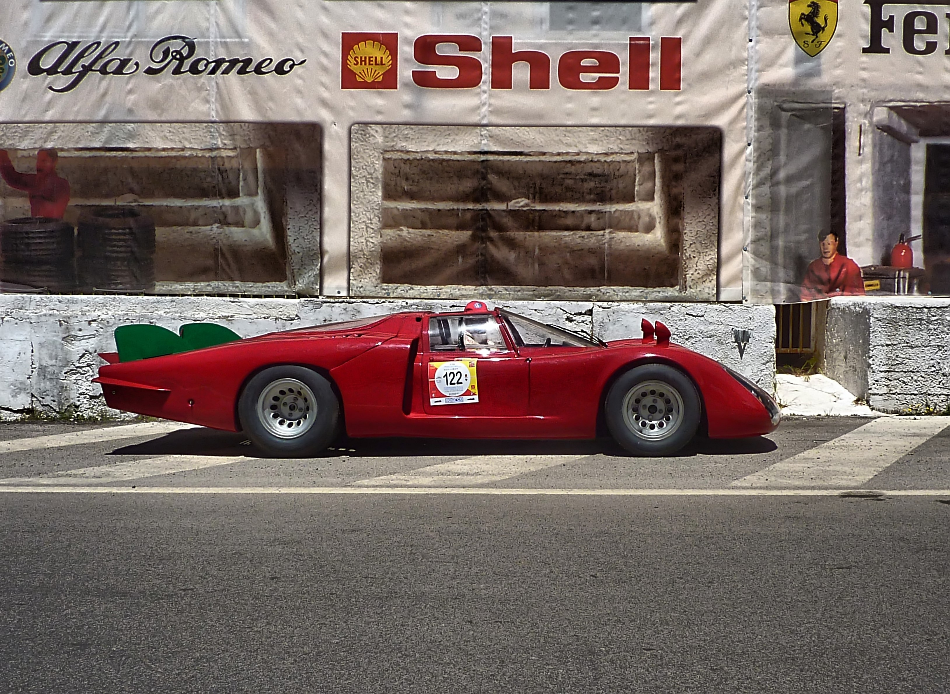 1968 Alfa Romeo T33-2 LeMans(Coda Lunga) (34)