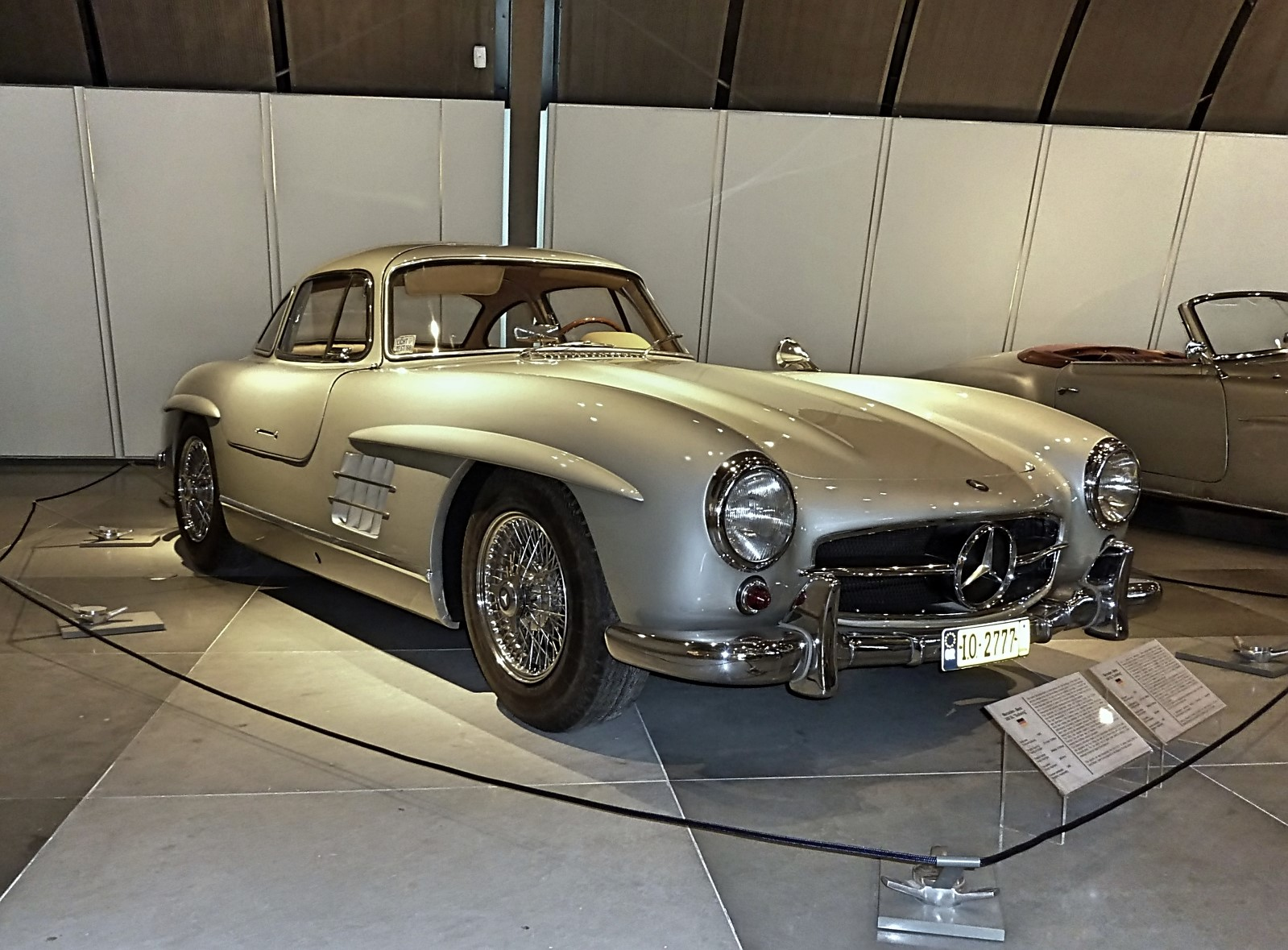 1954 Mercedes-Benz 300SL Gullwing ex.Paul Newman (18)