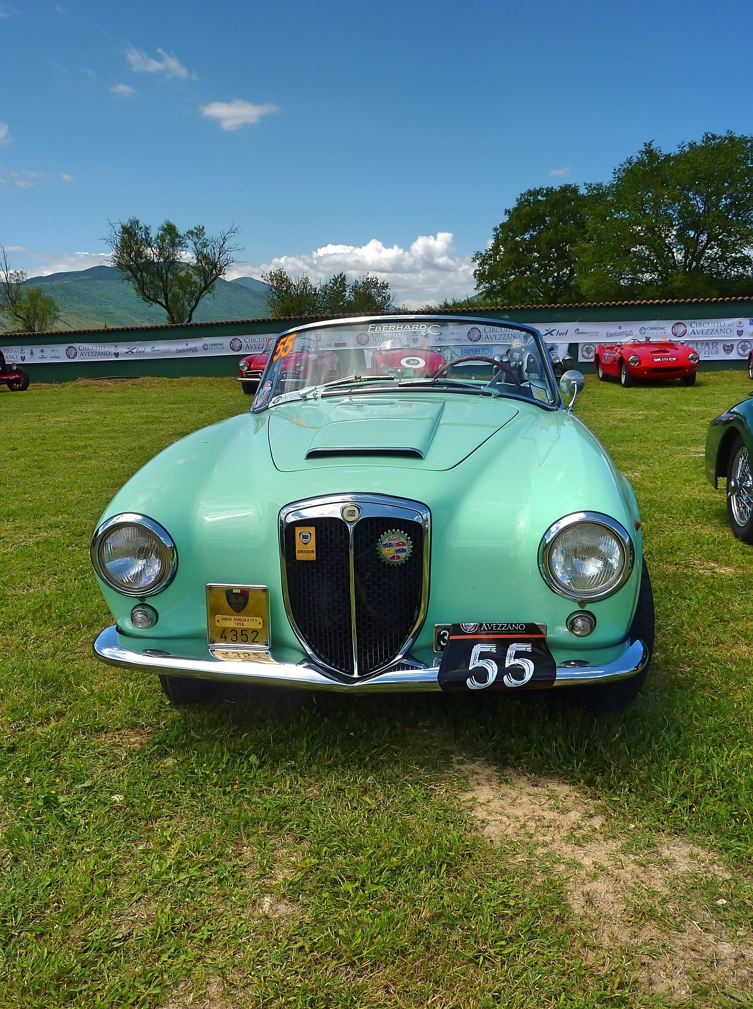 1956 Lancia Aurelia B24 Cabriolet  (13)