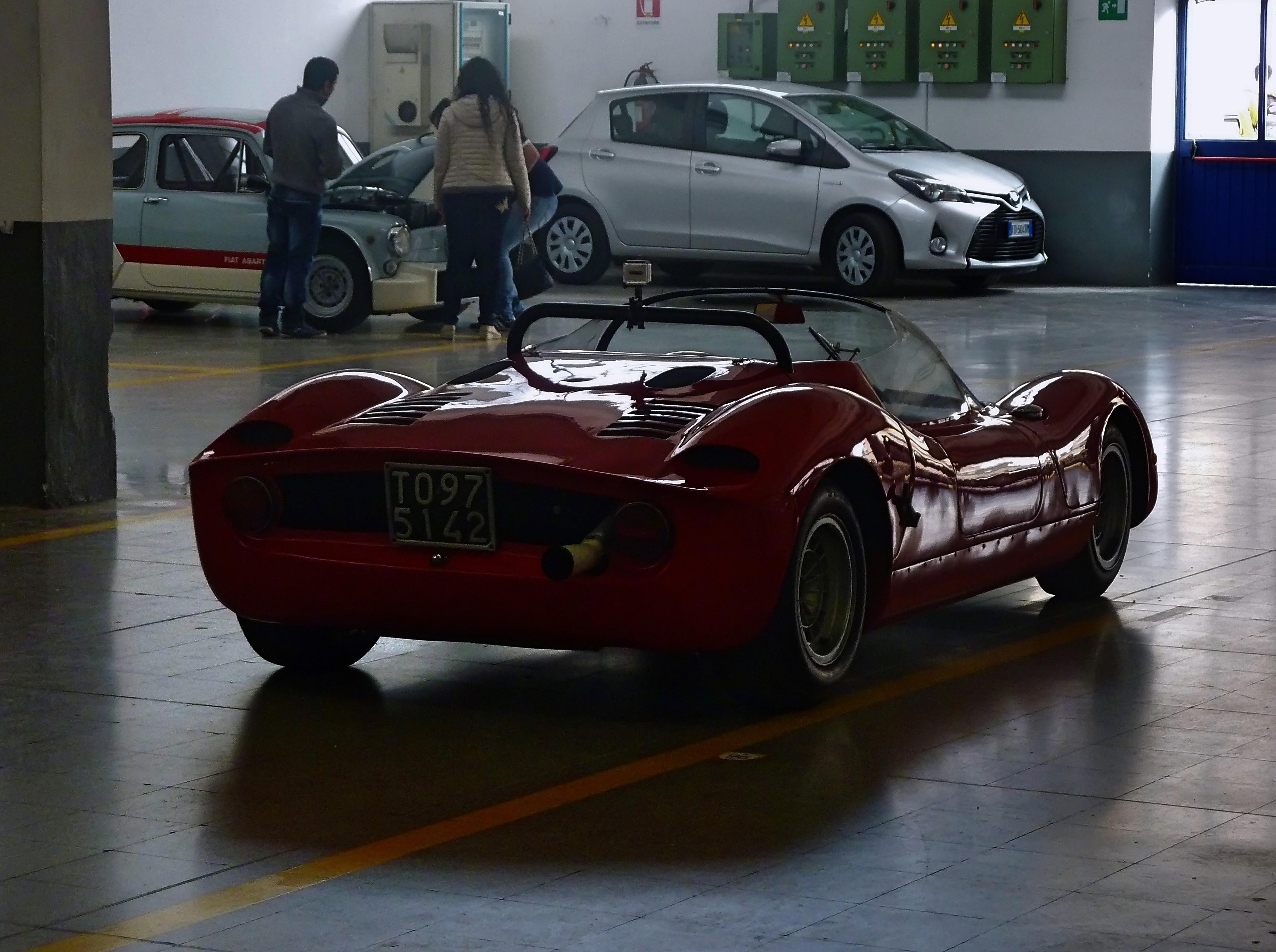1966  Abarth 1000 SP   (7)
