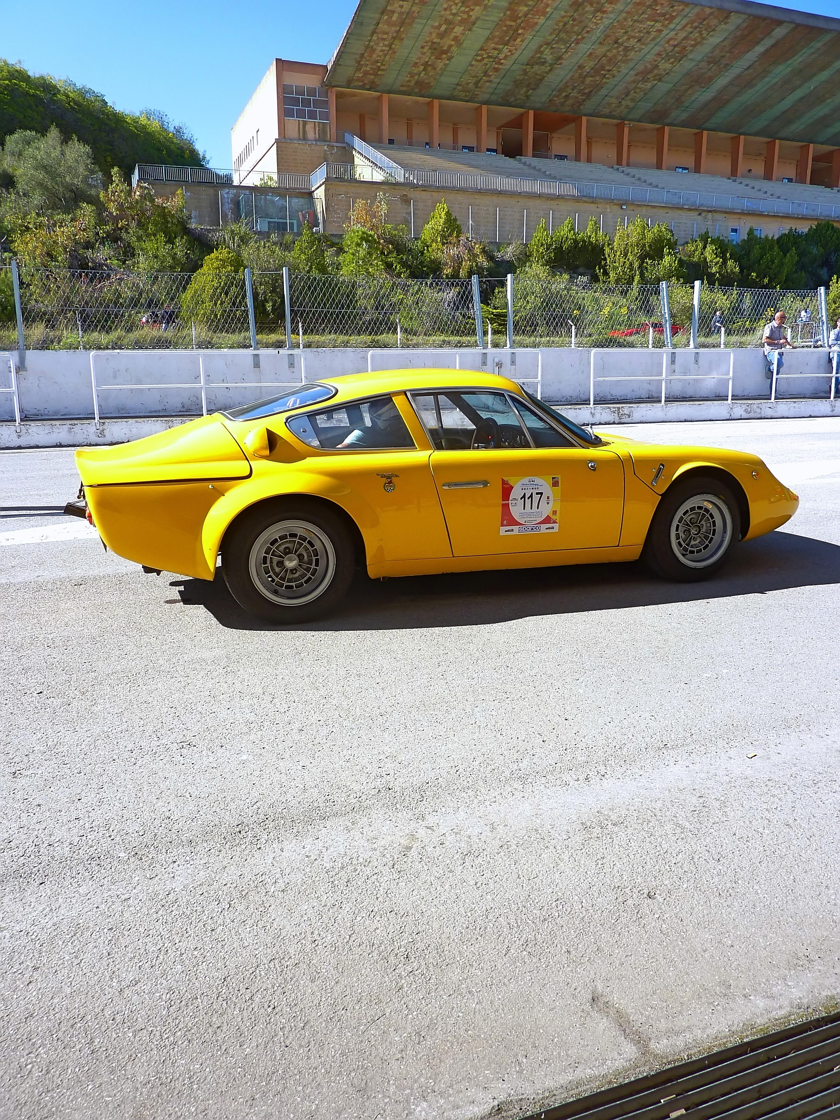 1965 Abarth Simca 2000 GT Corsa Longnose (9)