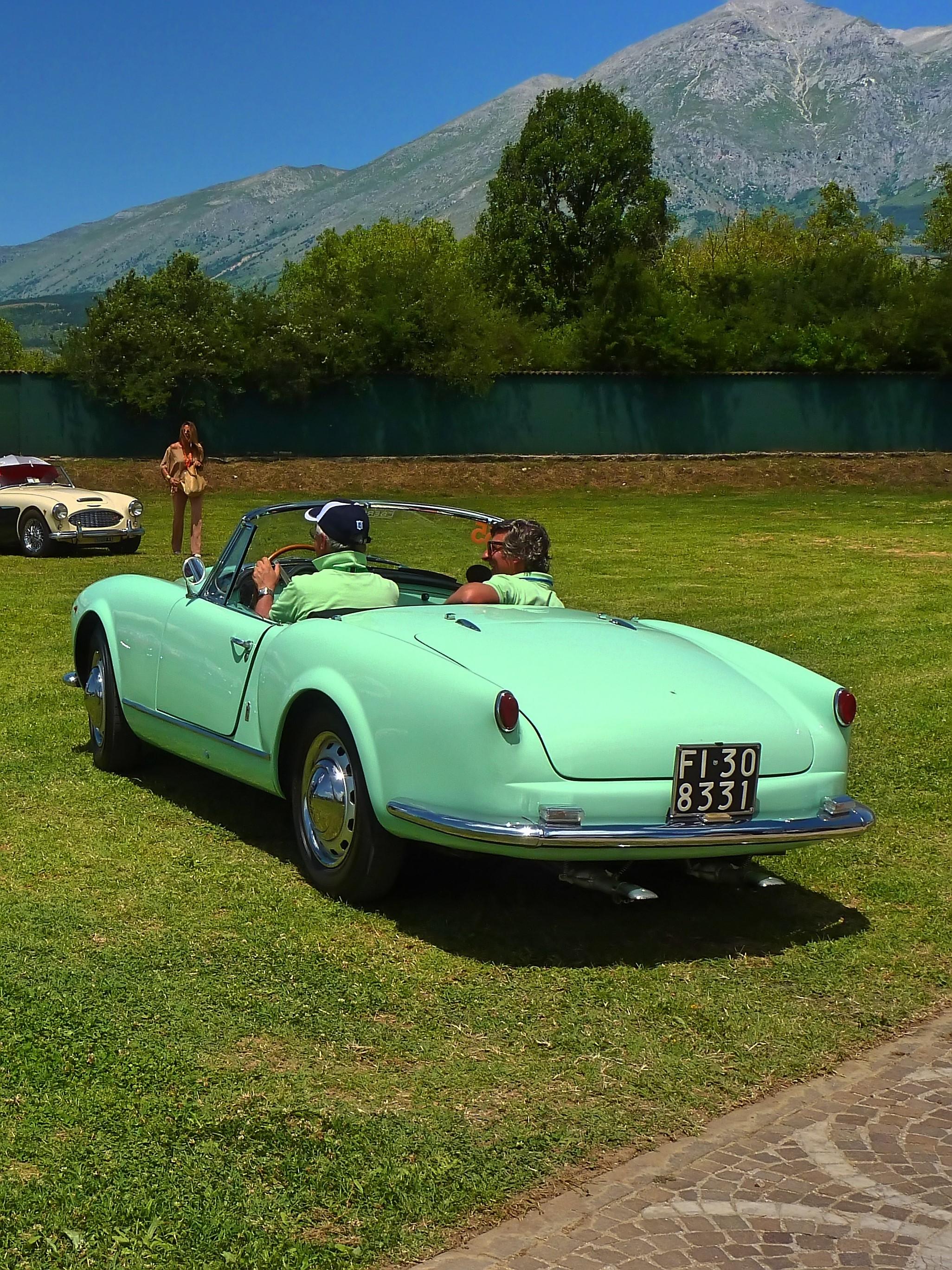 1956 Lancia Aurelia B24 Cabriolet  (12)