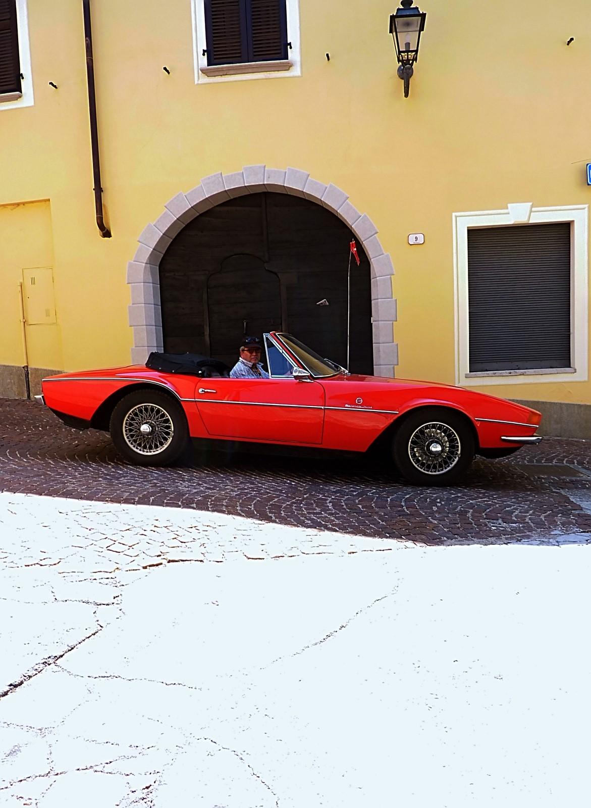 1968 Michelotti TR5 Ginevra Prototype (62)