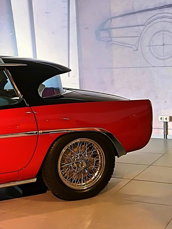 1952 Fiat 8V Vignale Demon Rouge Coupe  (11)
