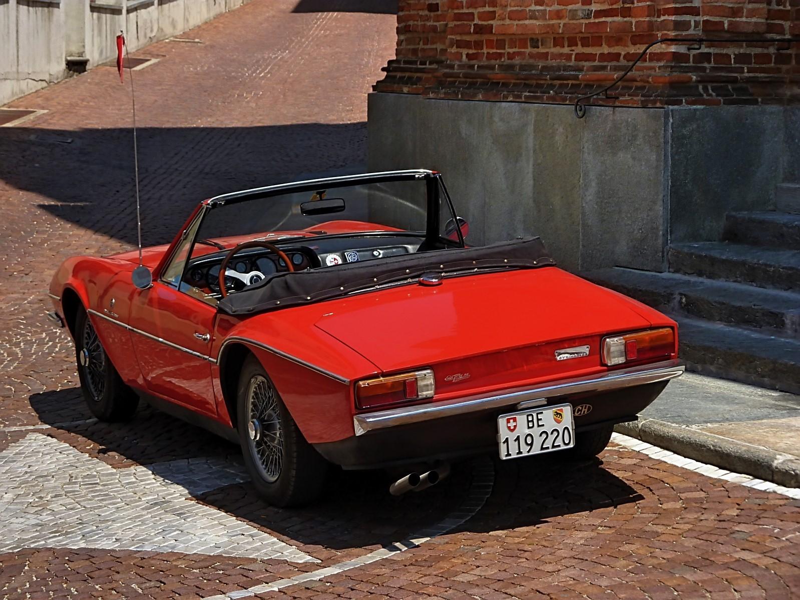 1968 Michelotti TR5 Ginevra Prototype (54)