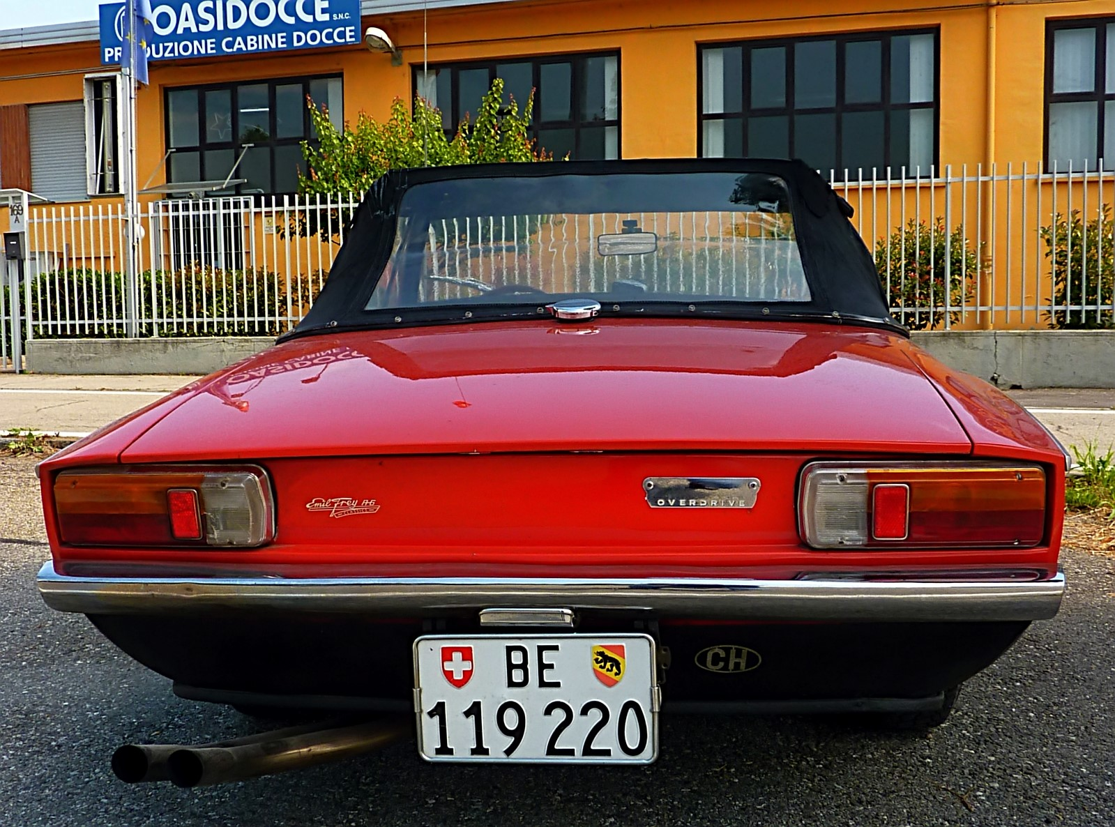 1968 Michelotti TR5 Ginevra Prototype (7)