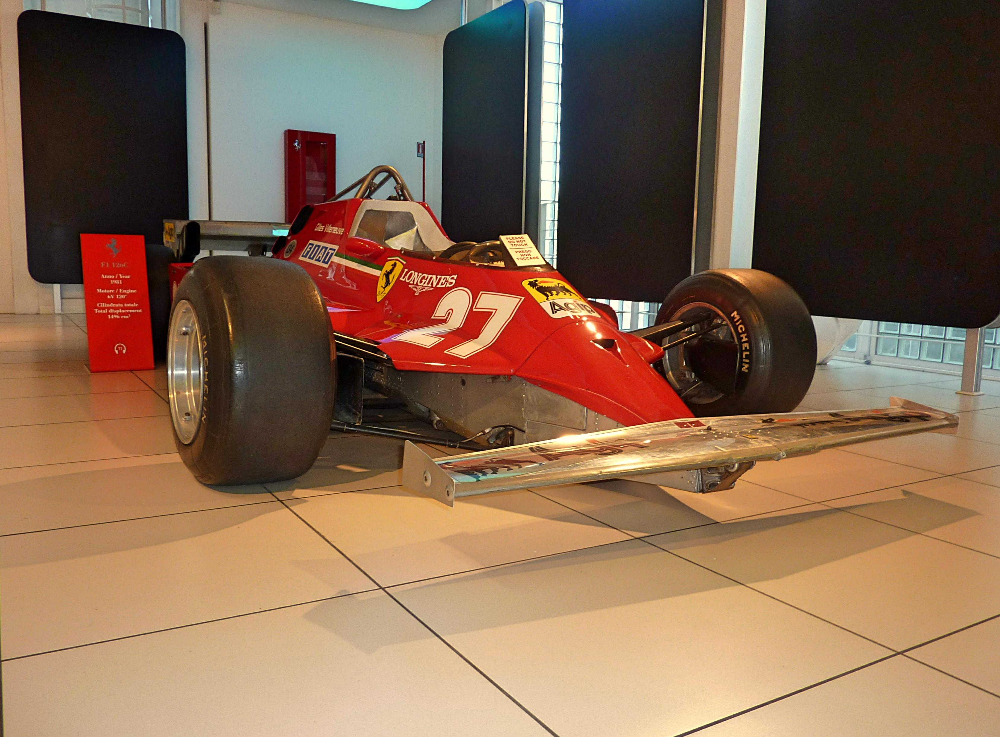 1981 Ferrari F1 126C