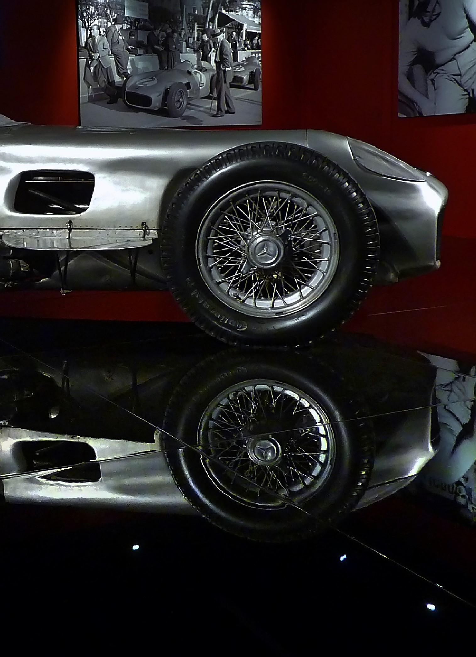 1954 Mercedes Benz W196 Silver Arrow (2)