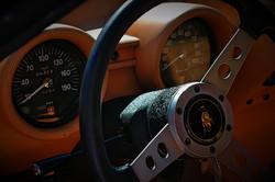 Lamborghini Miura interior