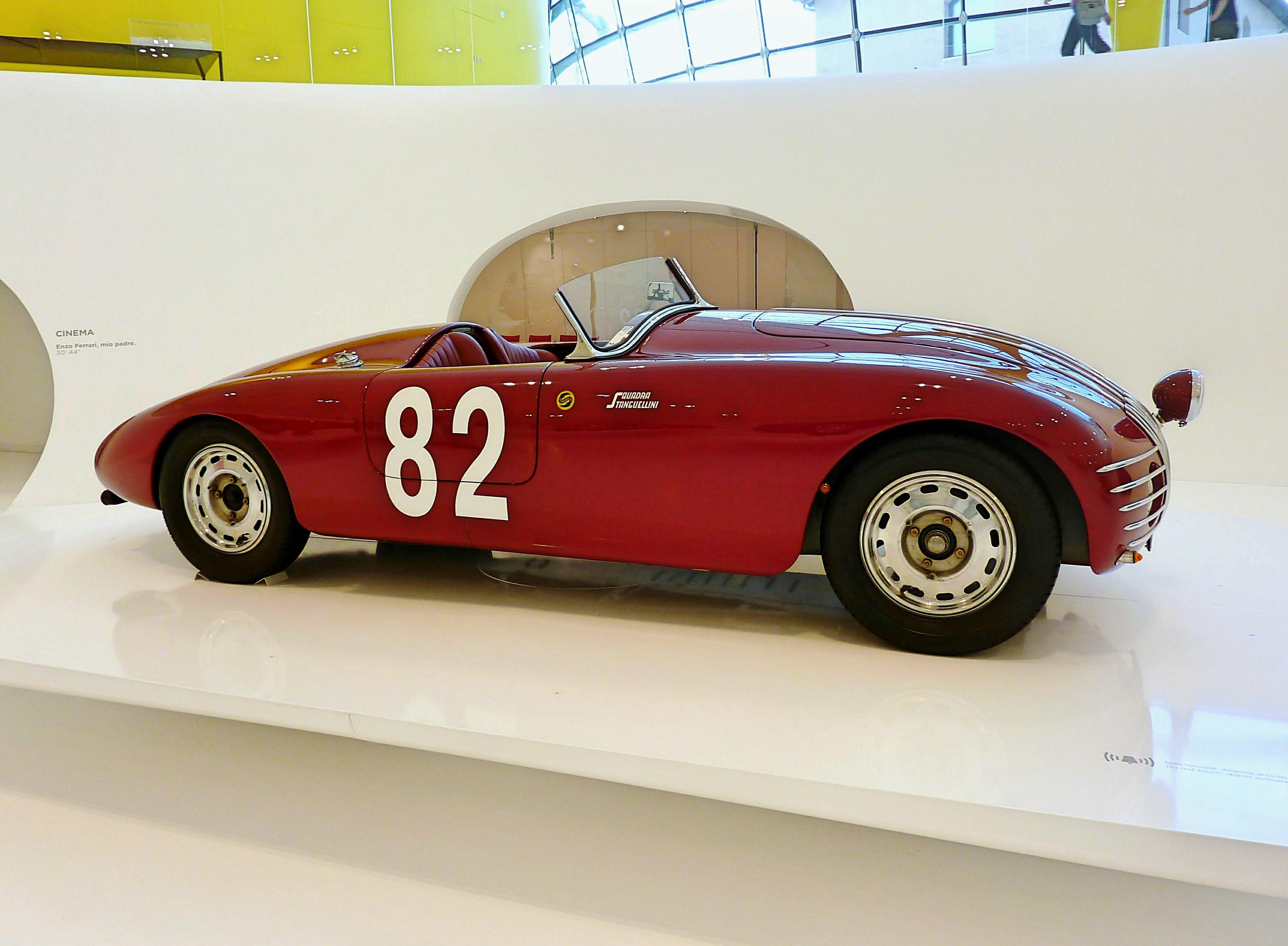 1943 Stanguellini 1100 Barchetta Alla d' Oro  (17)