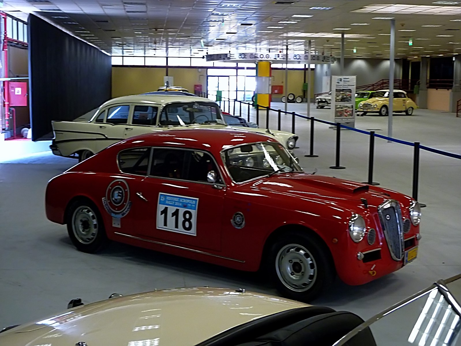 1953 Lancia Aurelia B24 ex L (34)