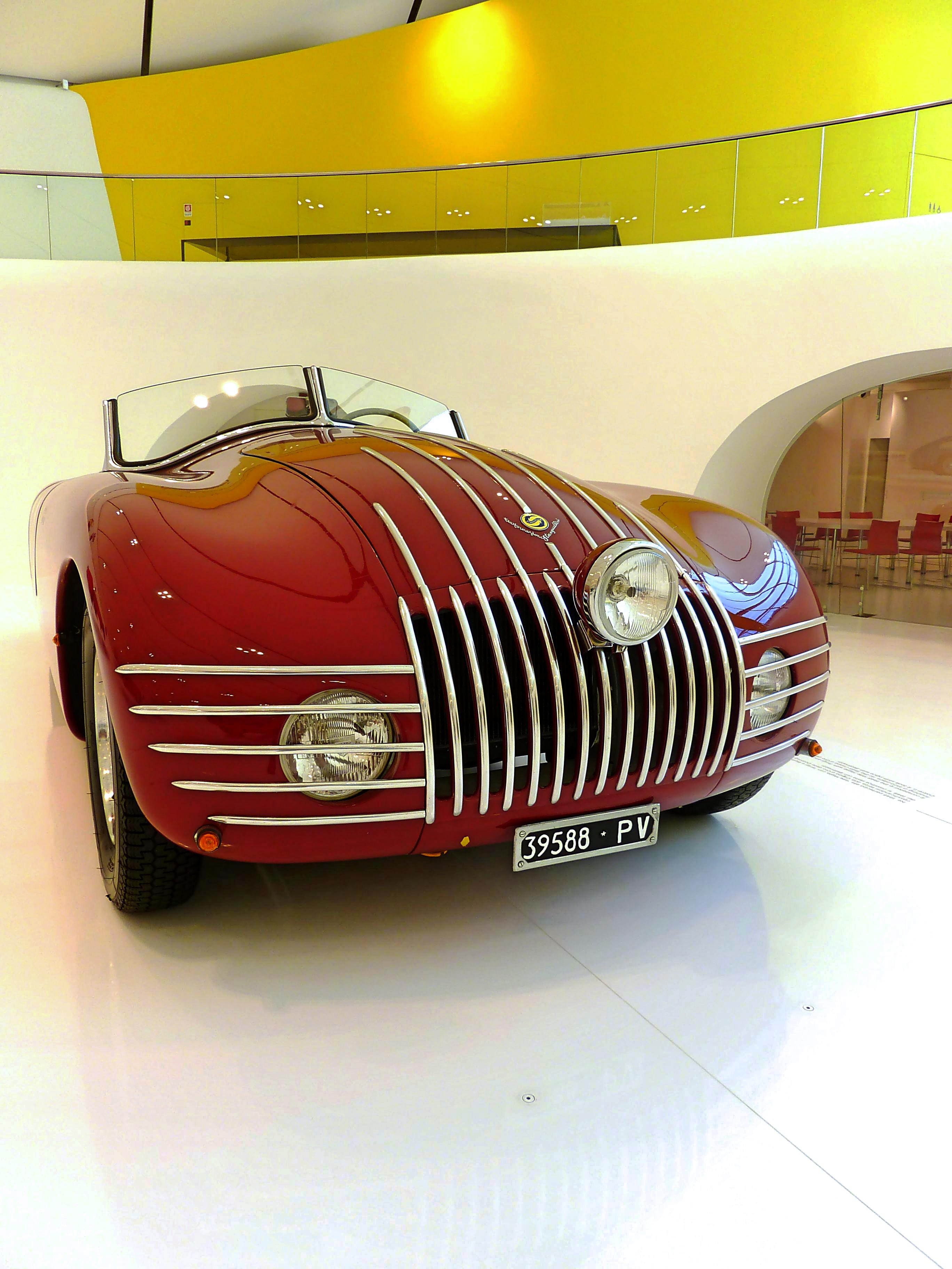 1943 Stanguellini 1100 Barchetta Alla d' Oro  (4)