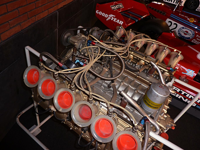 Brabham BT45 Alfa Romeo V12 engine