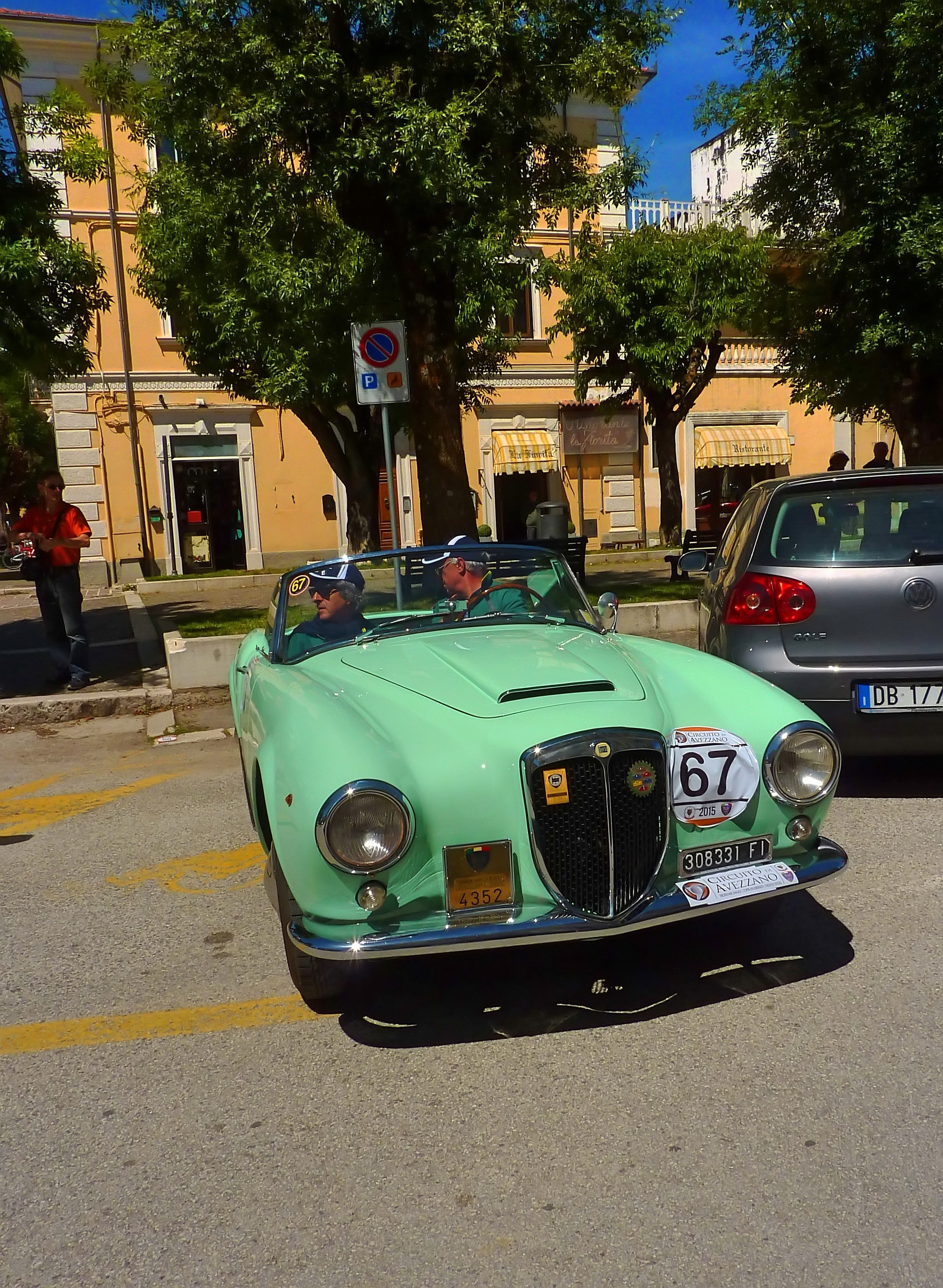 1956 Lancia Aurelia B24 Cabriolet  (16)