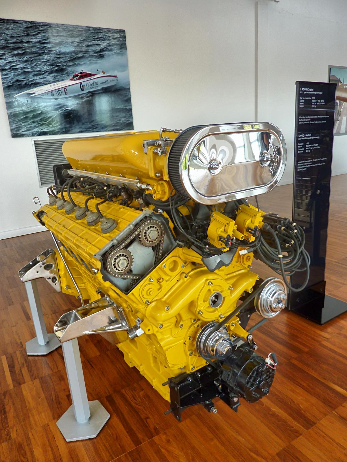 L 900 I Engine (1993)