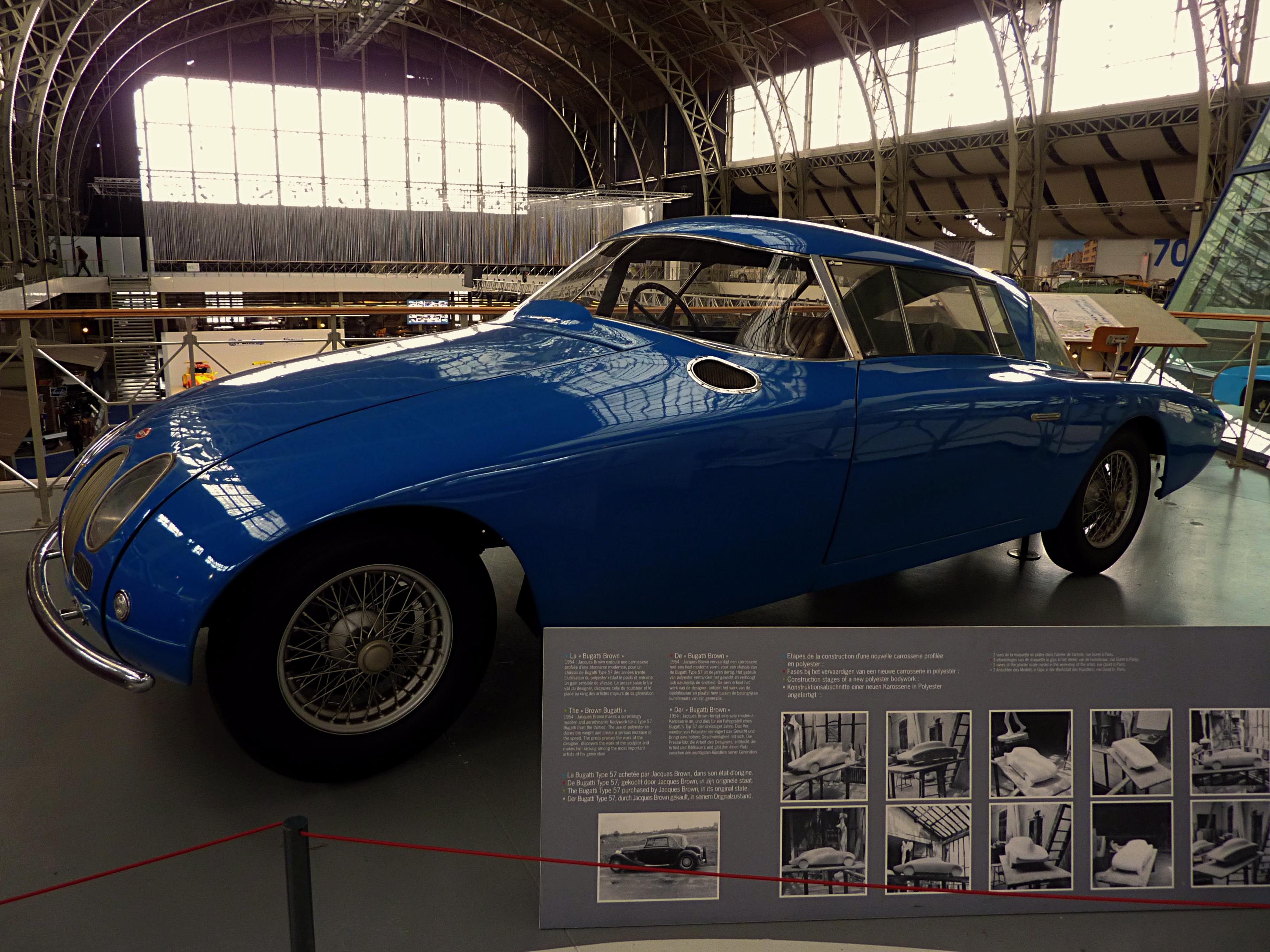 1952 Bugatti T57 by James Brown
