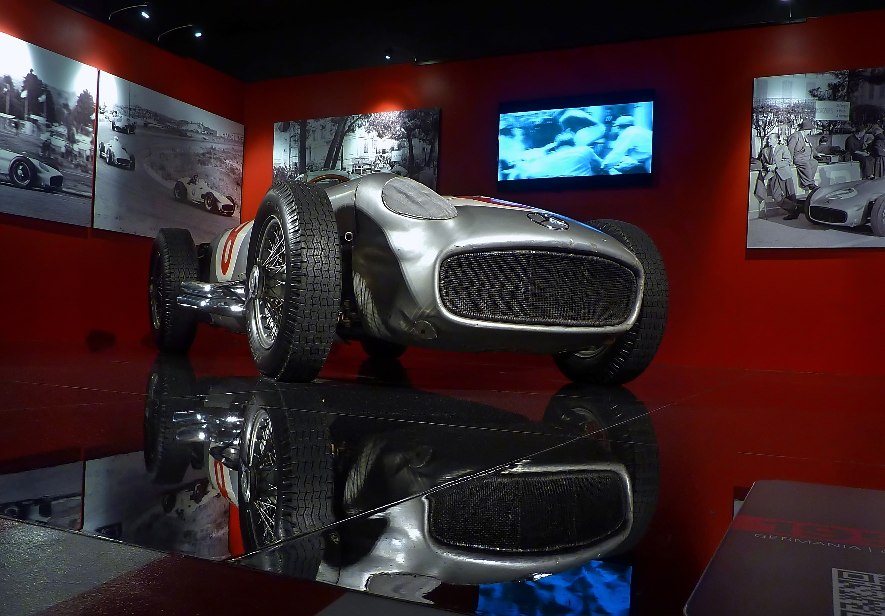 1954 Mercedes Benz W196 Silver Arrow (7)