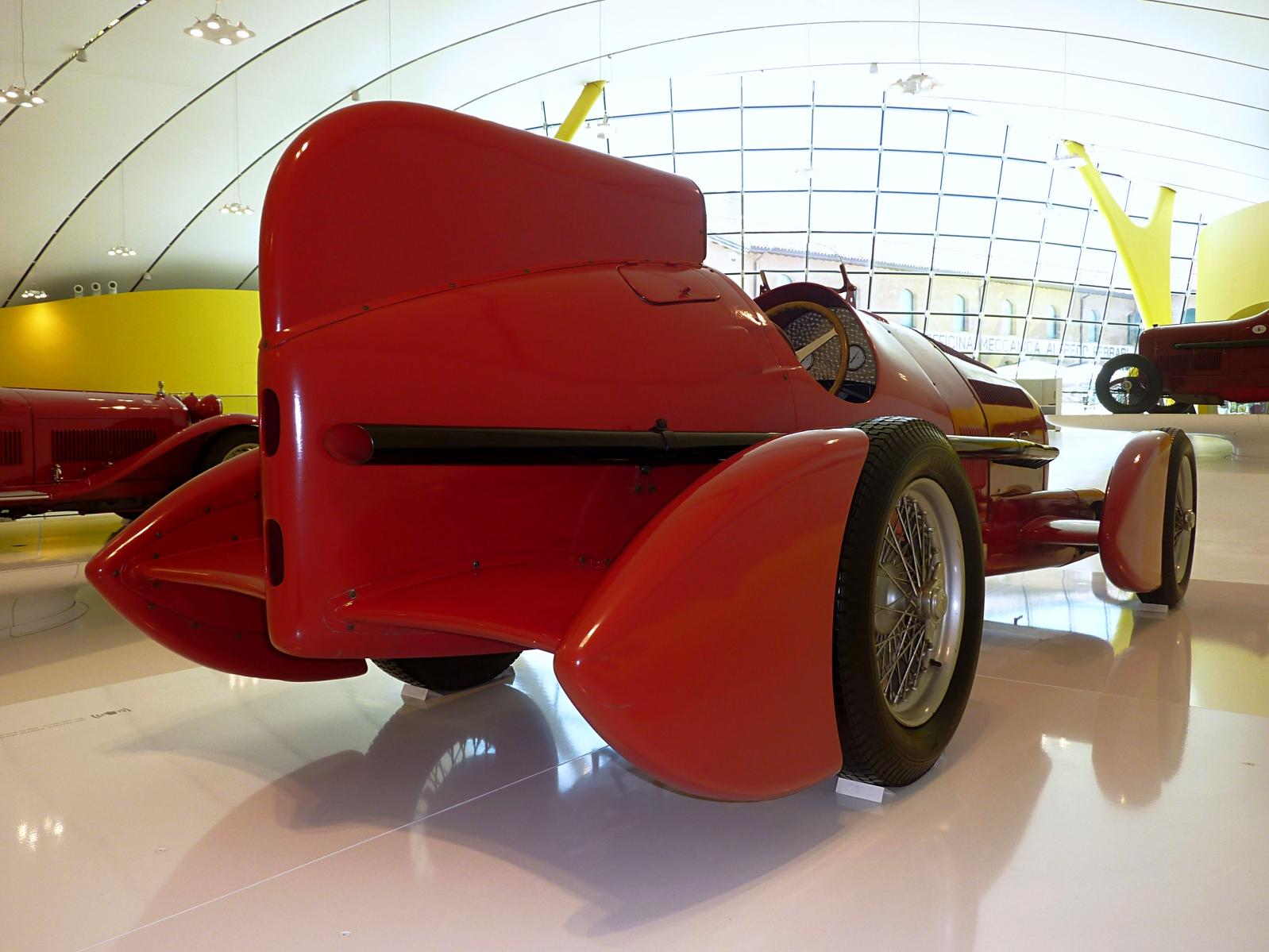 1934 alfa romeo gran premio tipo b p3 aerodinamica
