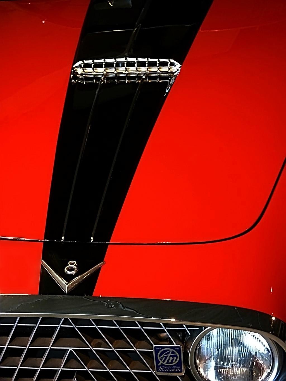 1952 Fiat 8V Vignale Demon Rouge Coupe  (9)