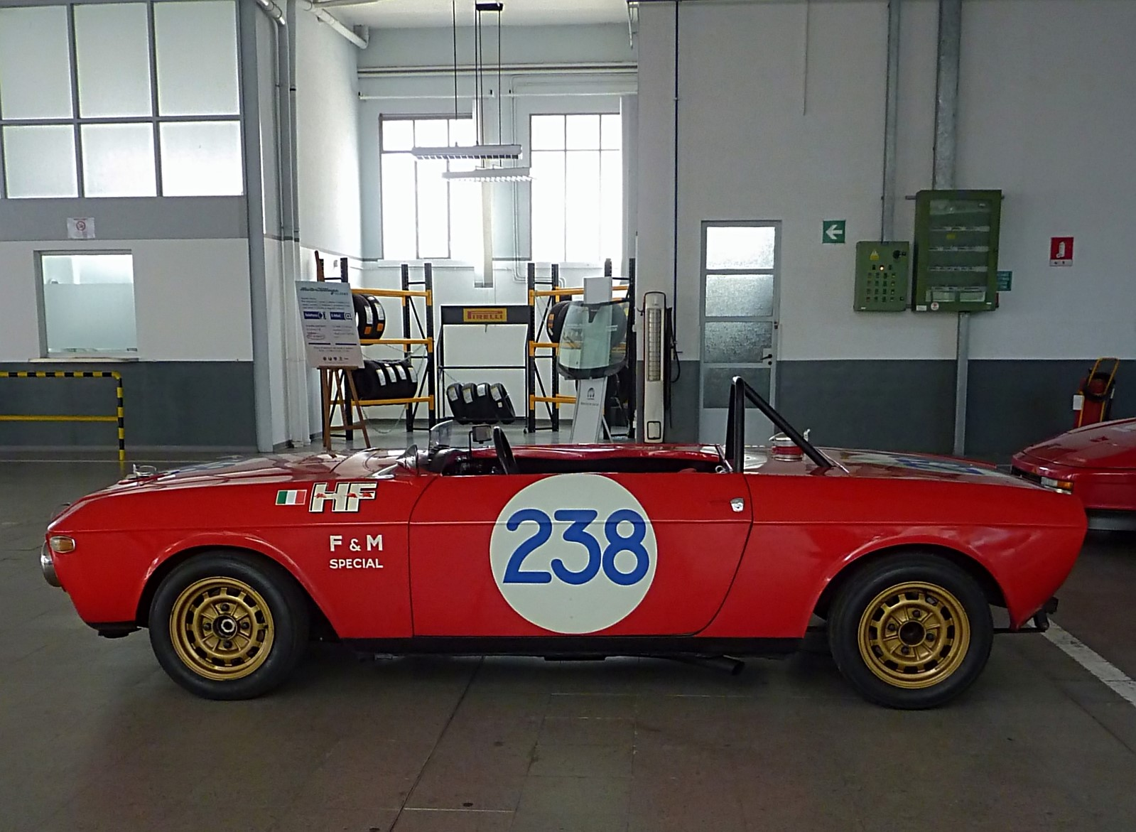 1969 Lancia Fulvia HF Barchetta F&M (Sandro  Munari) (3)