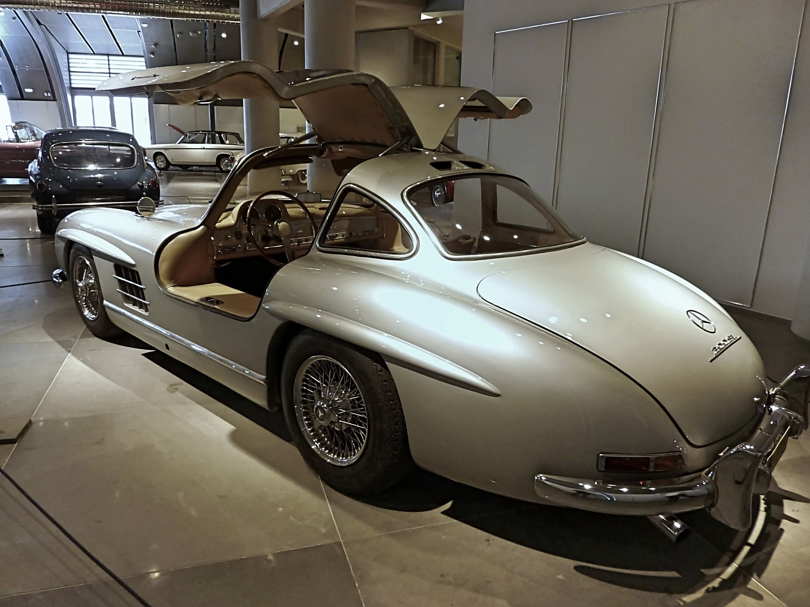 1954 Mercedes-Benz 300SL Gullwing ex.Paul Newman (8)