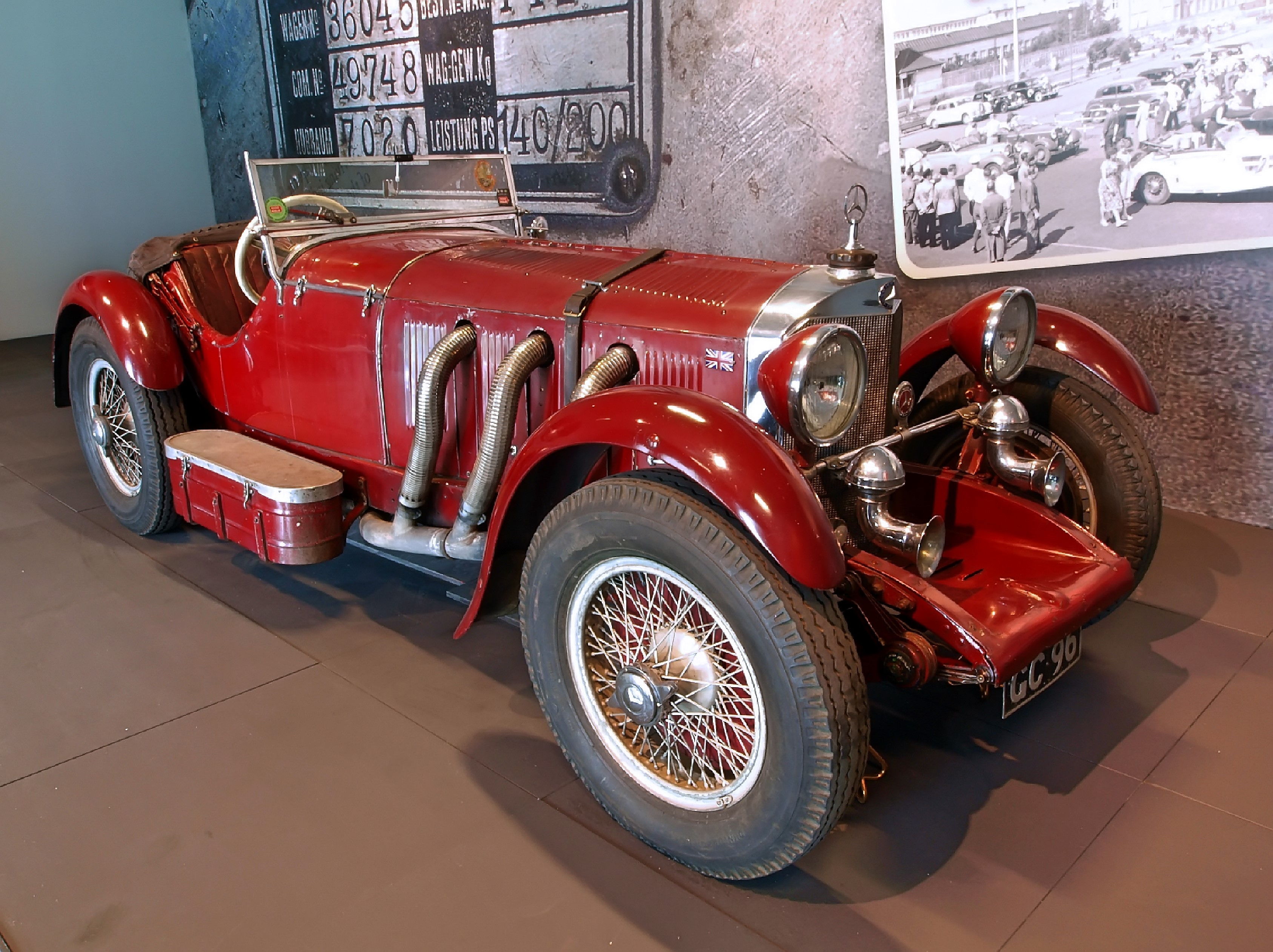 1929 Mercedes Benz SSK  (2)
