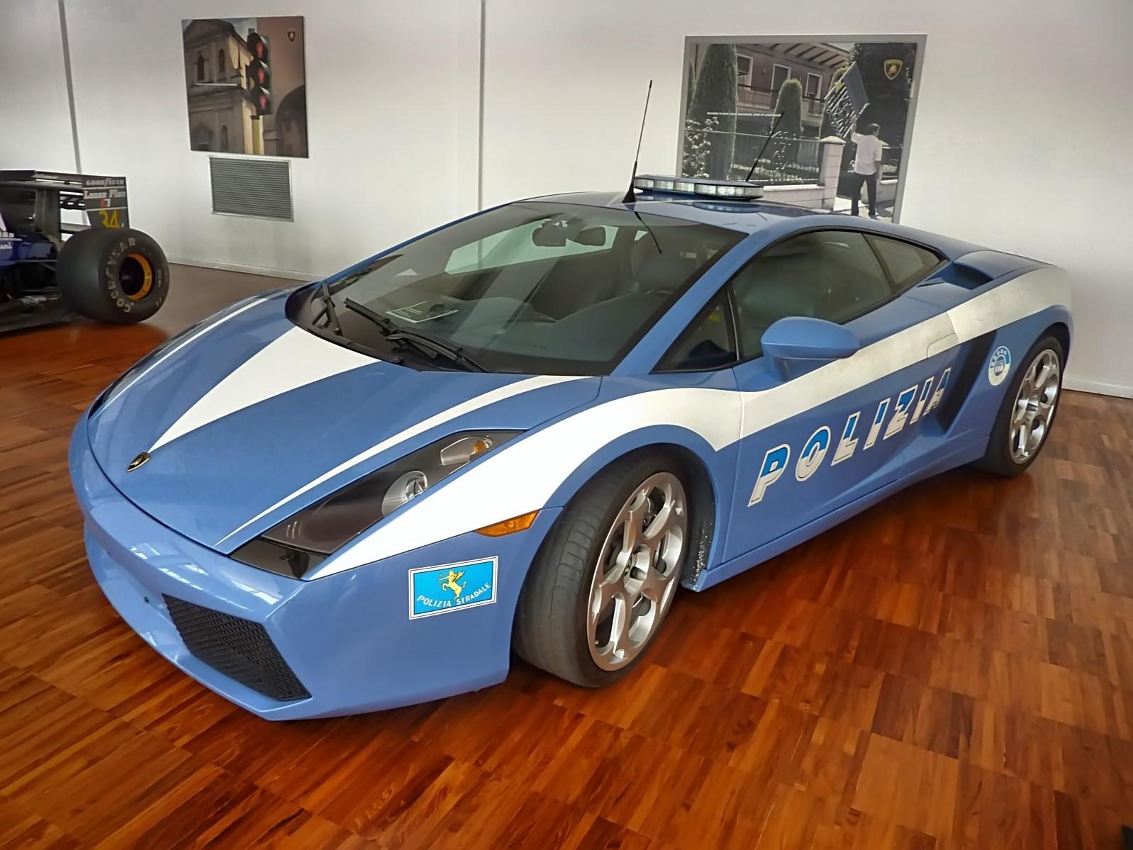 Gallardo LP560-4 Polizia (2009)