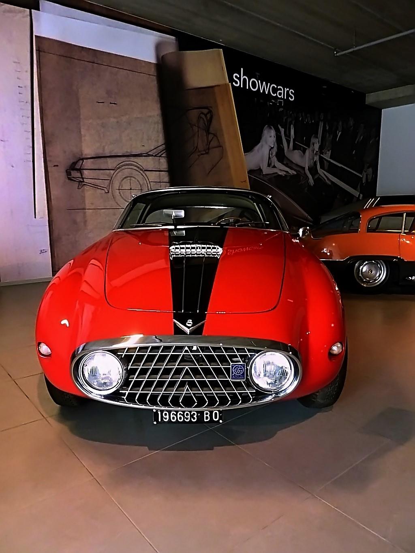 1952 Fiat 8V Vignale Demon Rouge Coupe  (4)