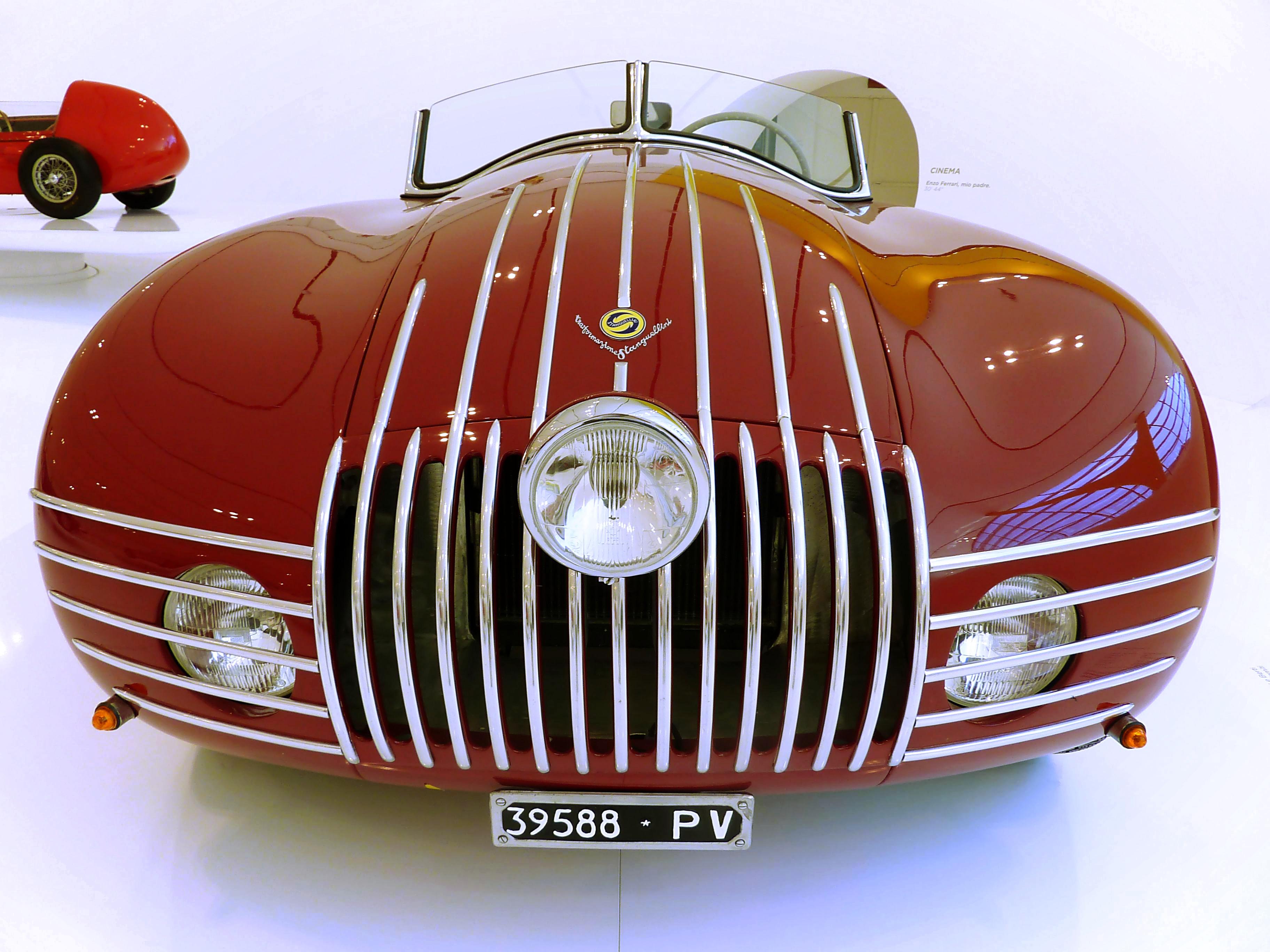 1943 Stanguellini 1100 Barchetta Alla d' Oro  (7)