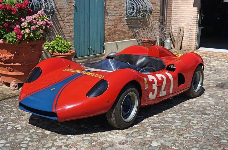 1962 Bandini 1000 Barchetta