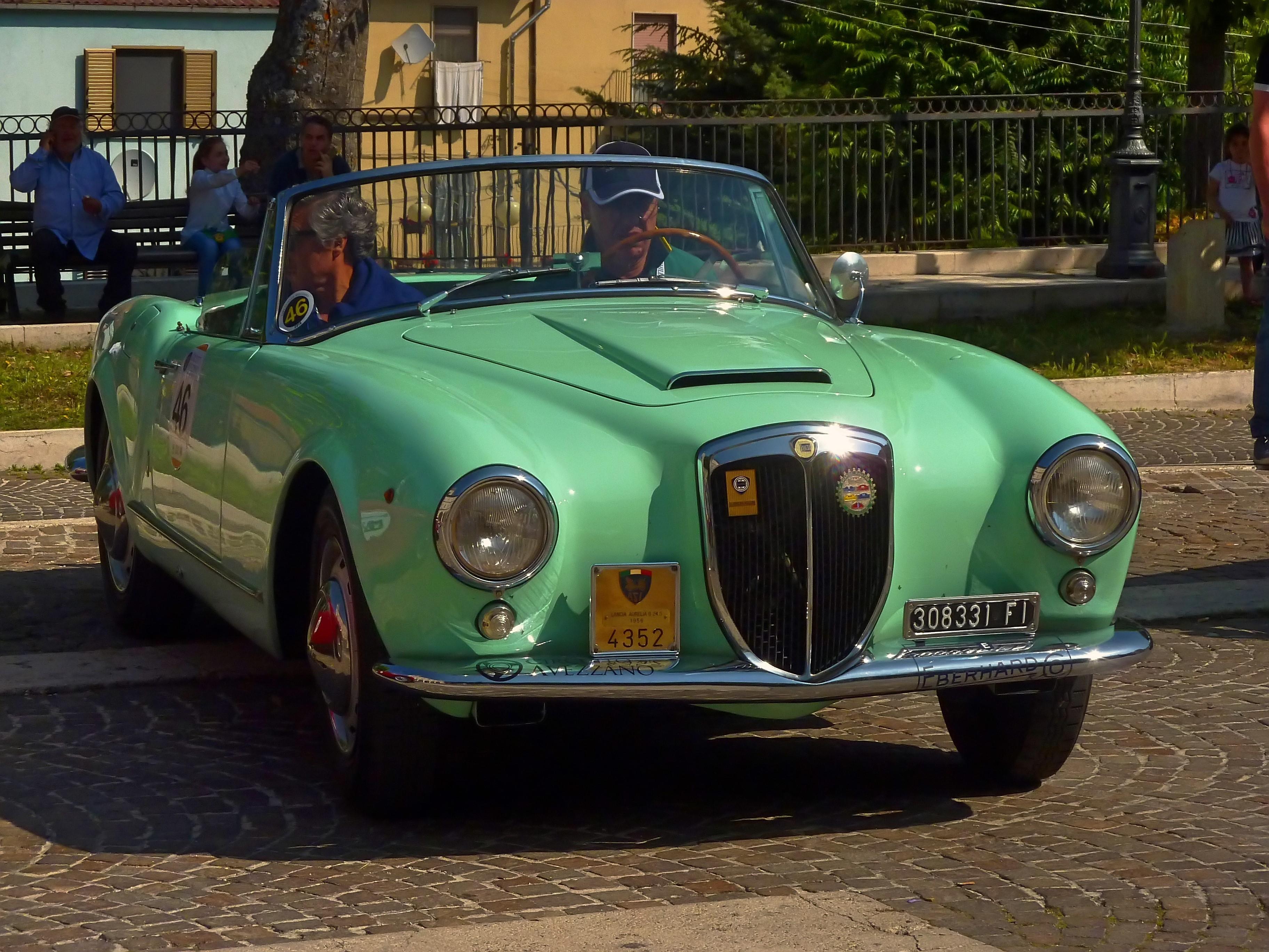 1956 Lancia Aurelia B24 Cabriolet  (24)