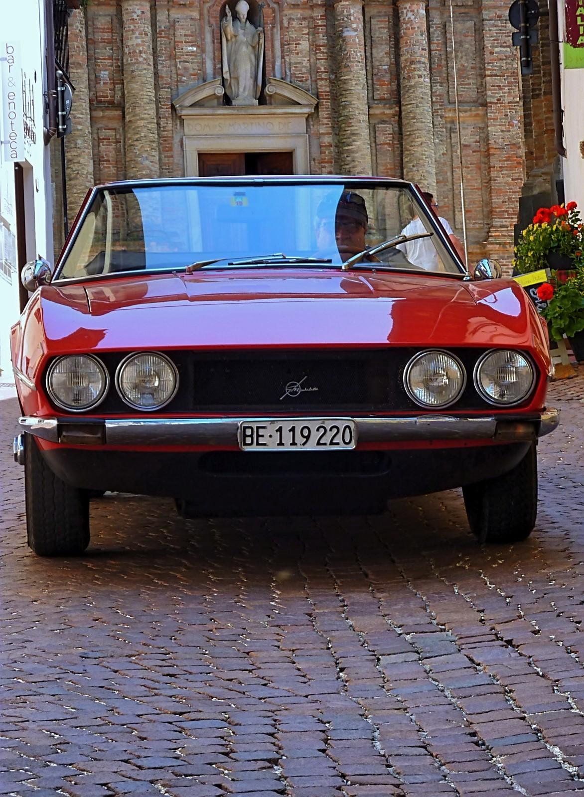 1968 Michelotti TR5 Ginevra Prototype (61)