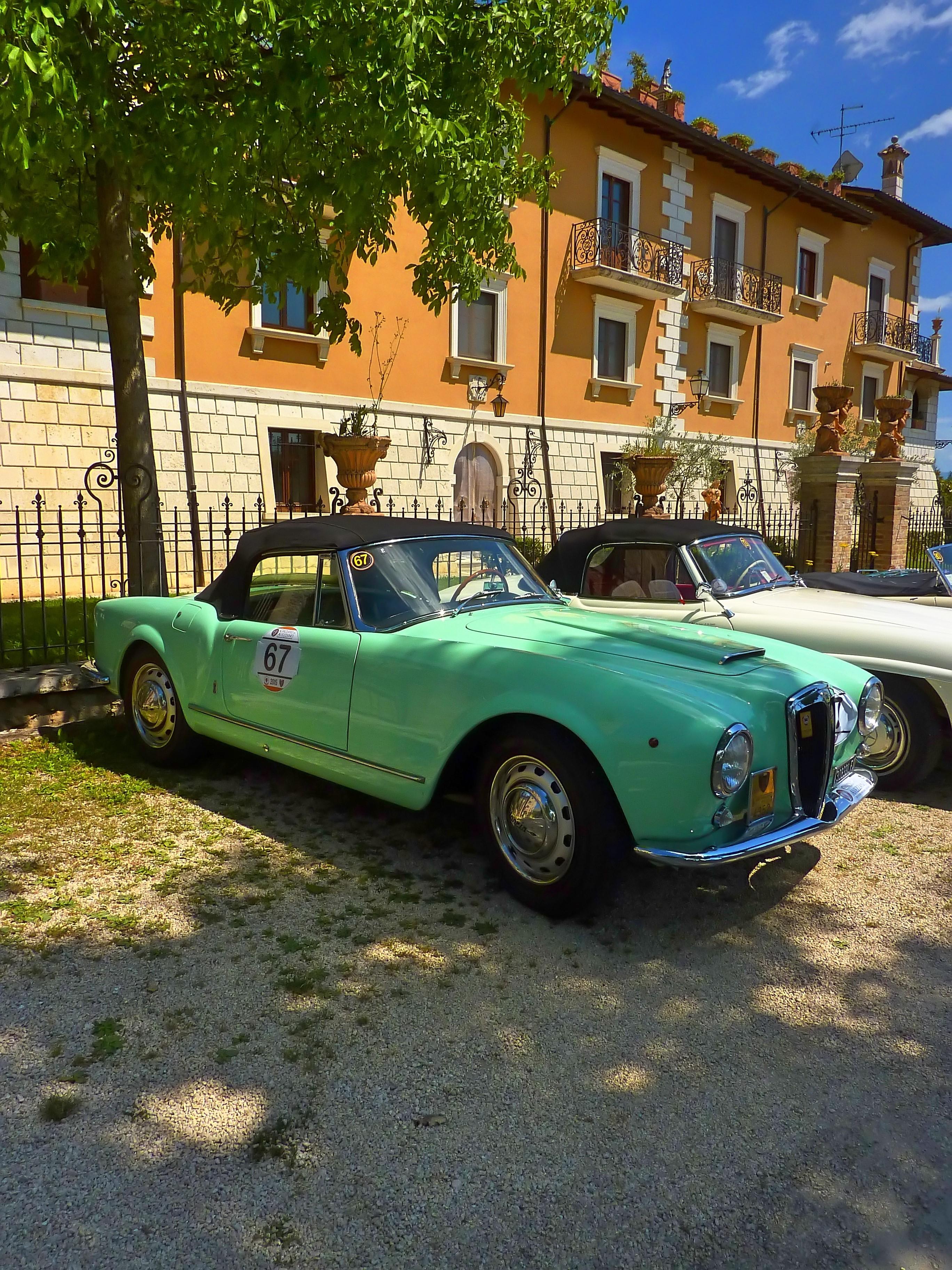 1956 Lancia Aurelia B24 Cabriolet  (17)