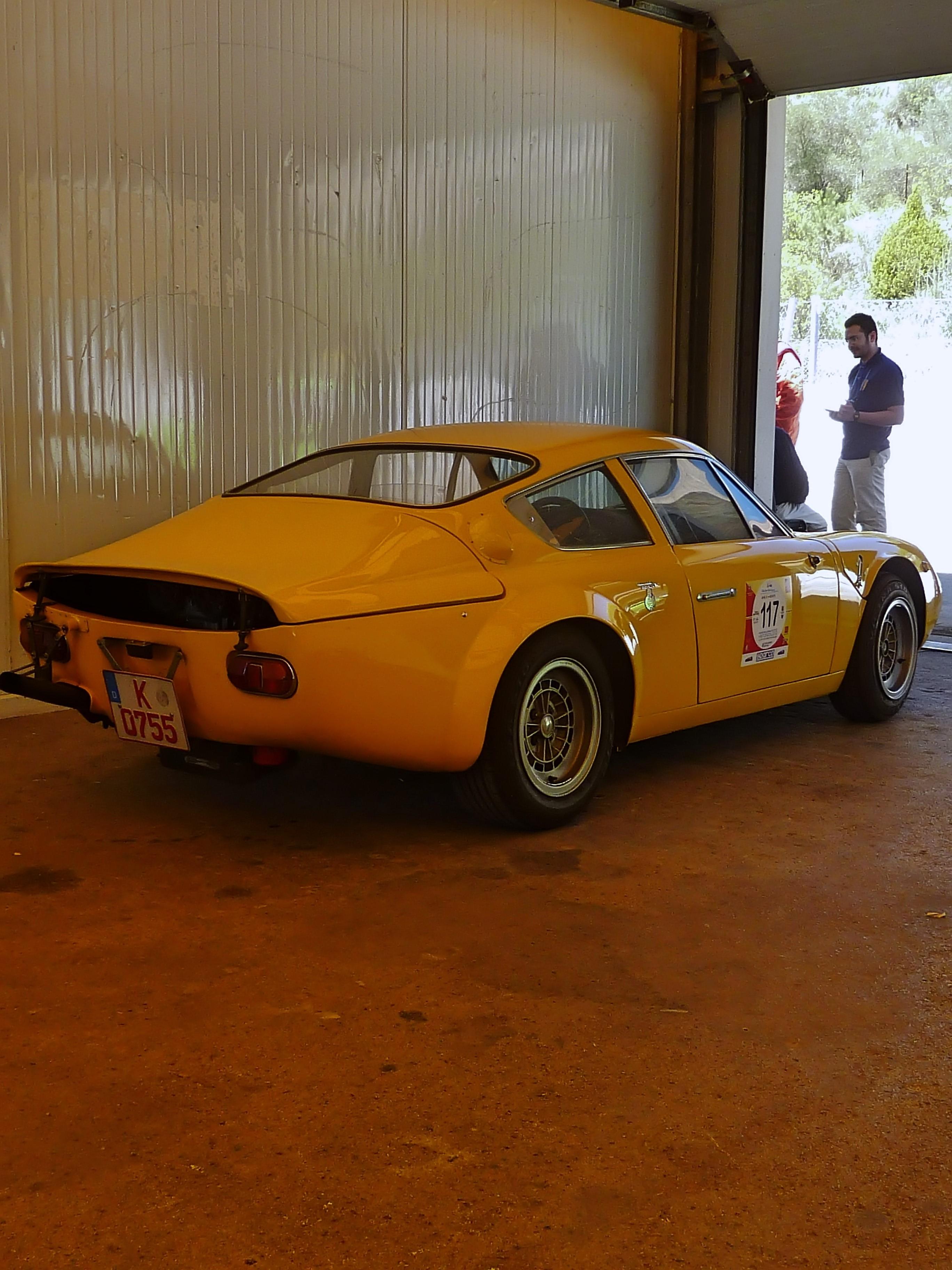1965 Abarth Simca 2000 GT Corsa Longnose (1)