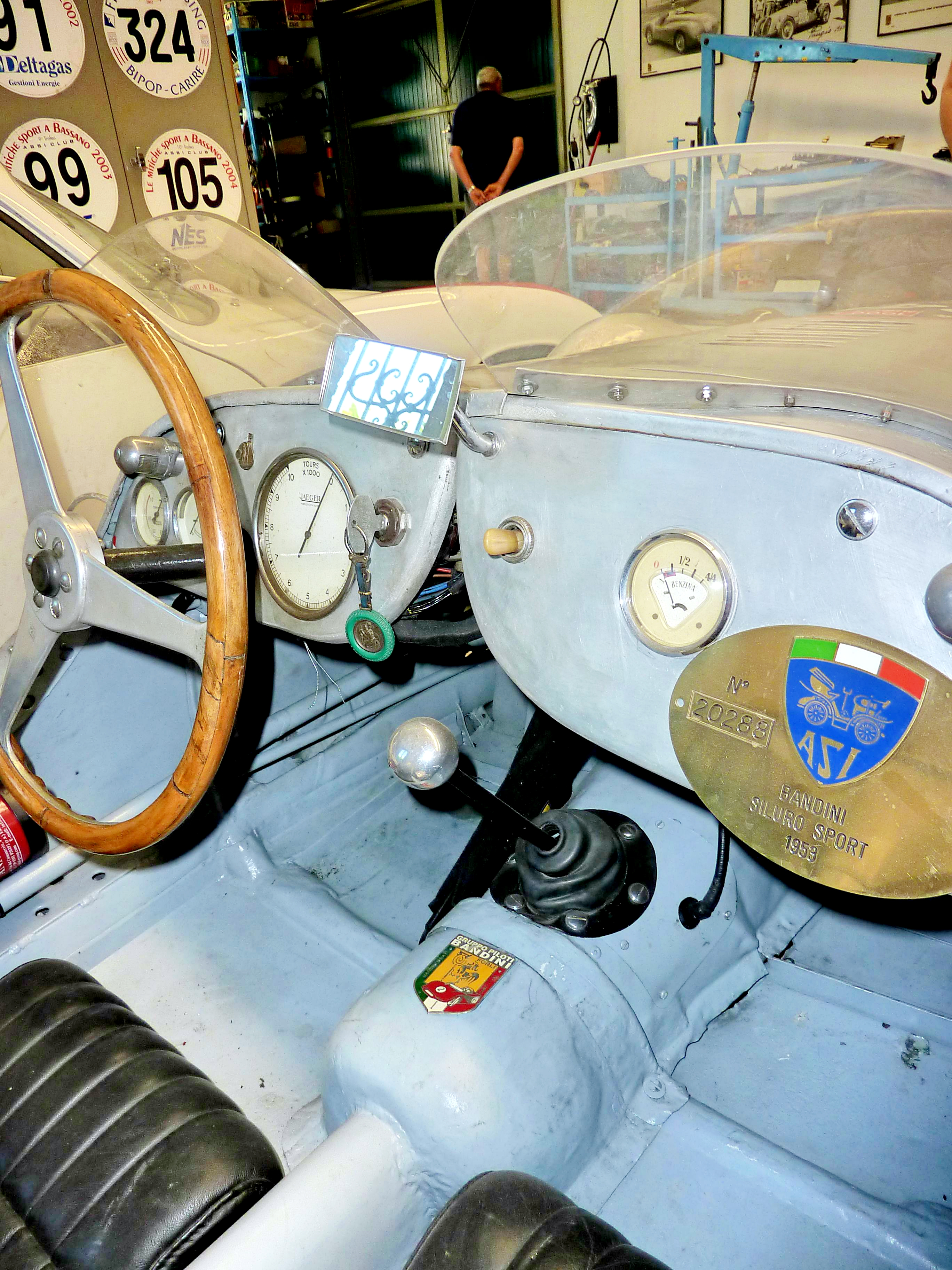 1953 Bandini 750 Sport Siluro