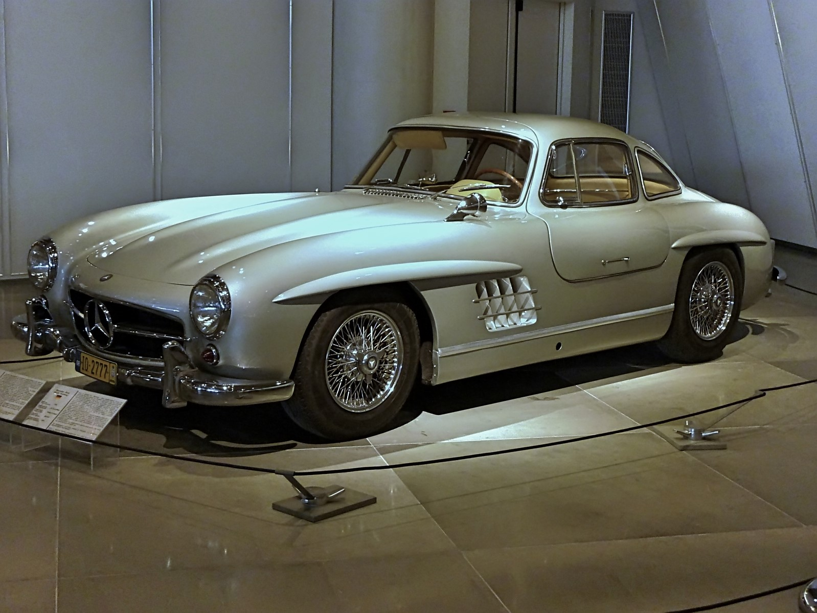 1954 Mercedes-Benz 300SL Gullwing ex.Paul Newman (16)